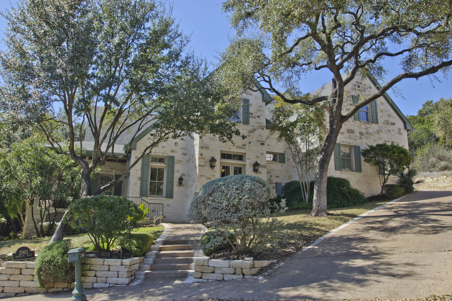 Single Family Home for Sale at A Private Retreat In Westlake 2901 Sparkling Brook Ln Austin, Texas 78746 United States