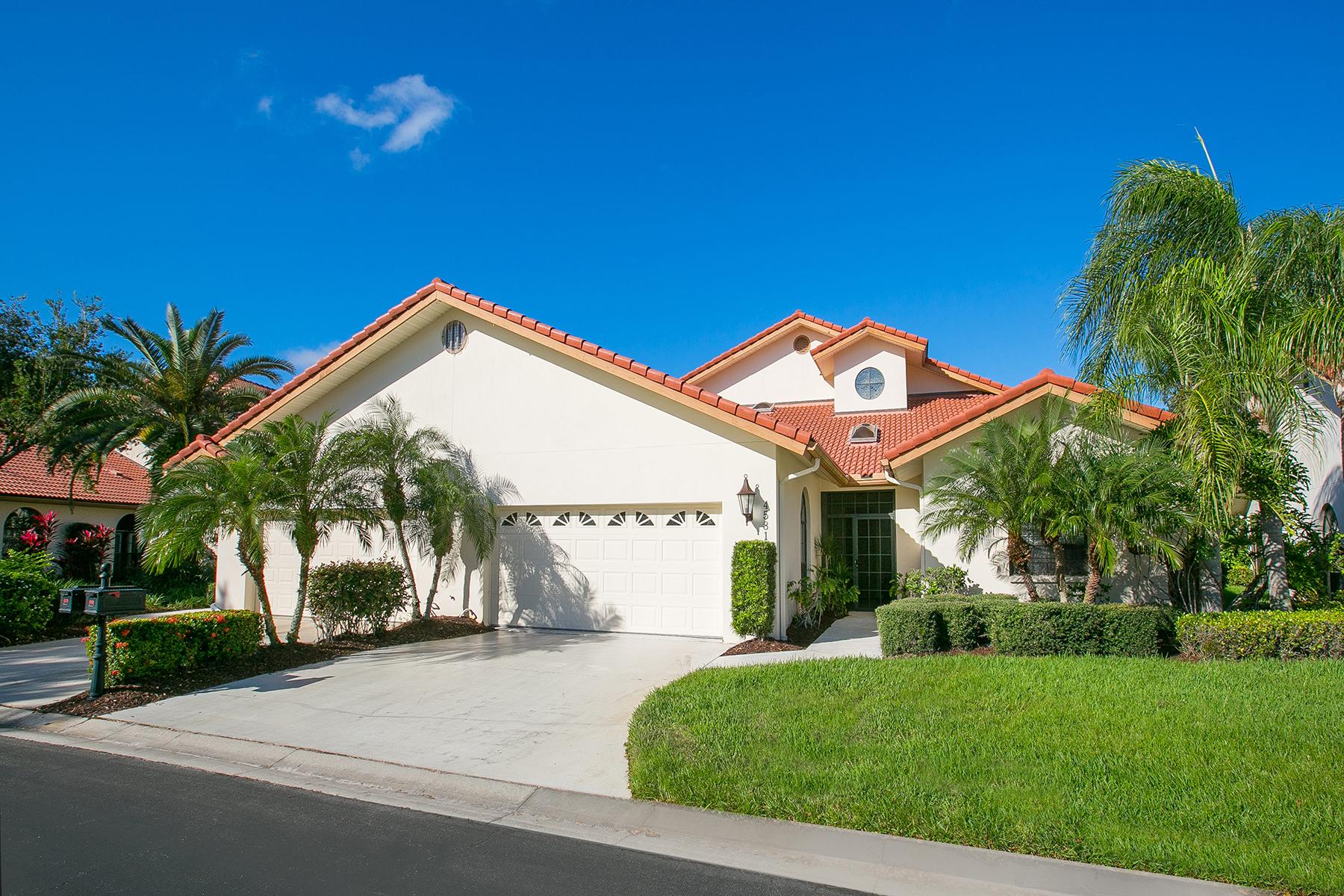 Casa para uma família para Venda às VILLA D'ESTE 4581 Las Brisas Ln Sarasota, Florida, 34238 Estados Unidos