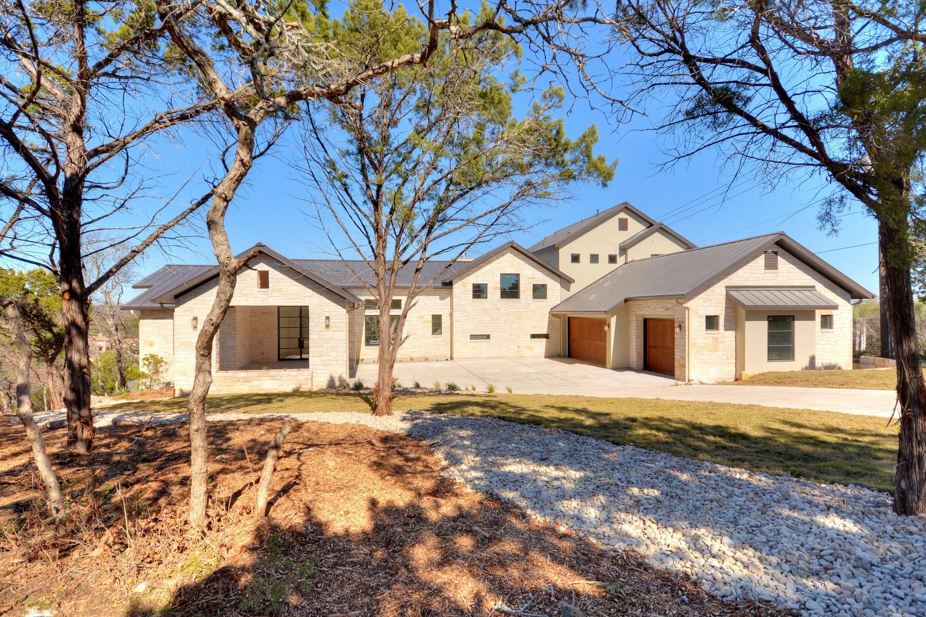 Nhà ở một gia đình vì Bán tại Gossett Jones Cutom Home in Shepherd Mountain 6910 W Courtyard Dr Austin, Texas 78730 Hoa Kỳ