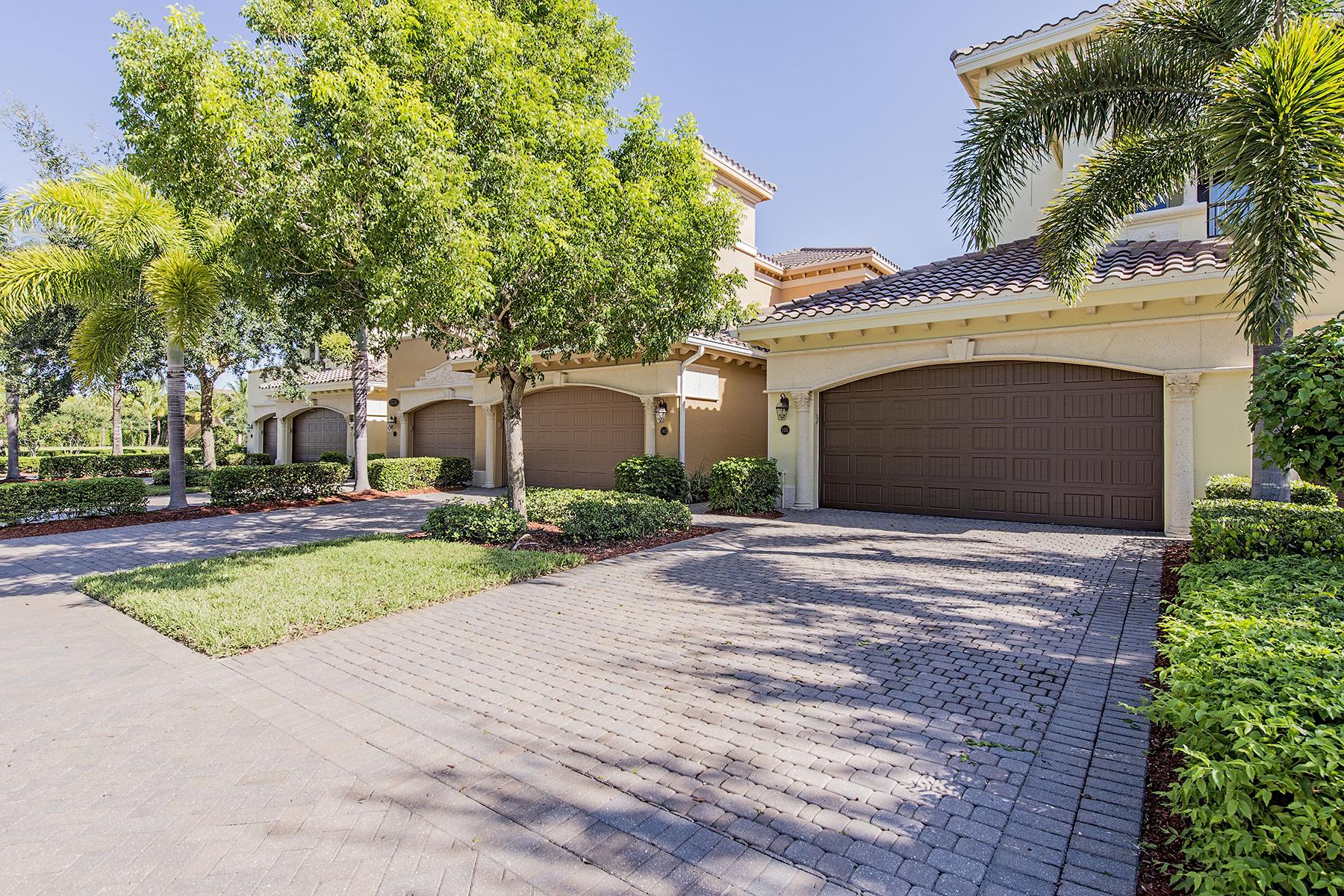 Condominium for Sale at FIDDLER'S CREEK - CALISTA 2731 Aviamar Cir 103 Naples, Florida 34114 United States