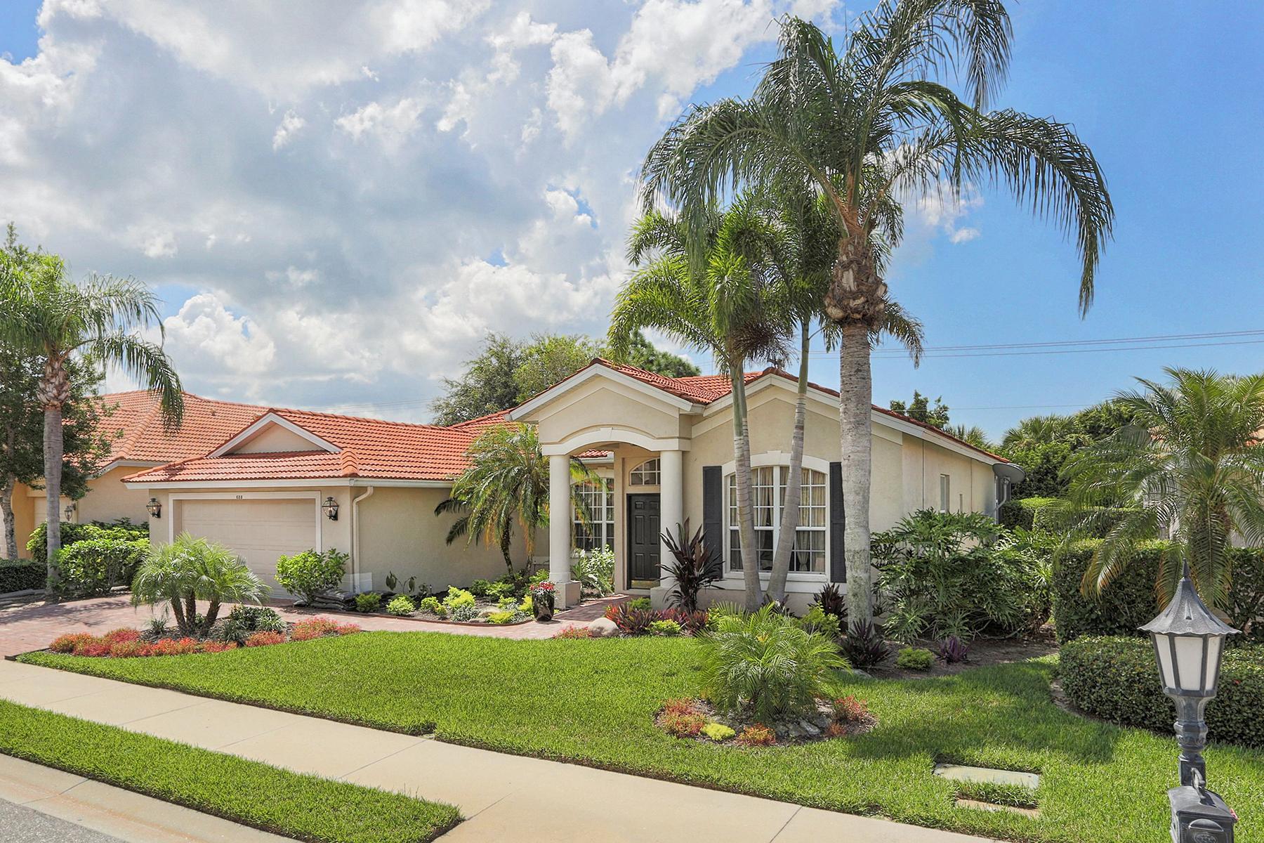 Maison unifamiliale pour l Vente à RIVENDELL 688 Shadow Bay Way Osprey, Florida 34229 États-Unis