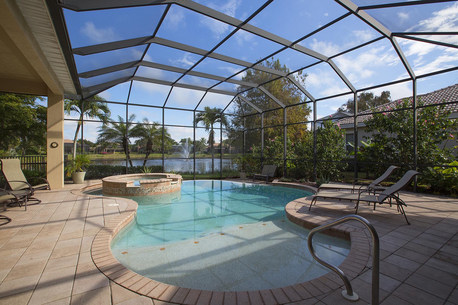 Maison unifamiliale pour l Vente à SANCTUARY AT PELICAN LANDING 3620 Sanctuary Lakes Dr Bonita Springs, Florida, 34134 États-Unis