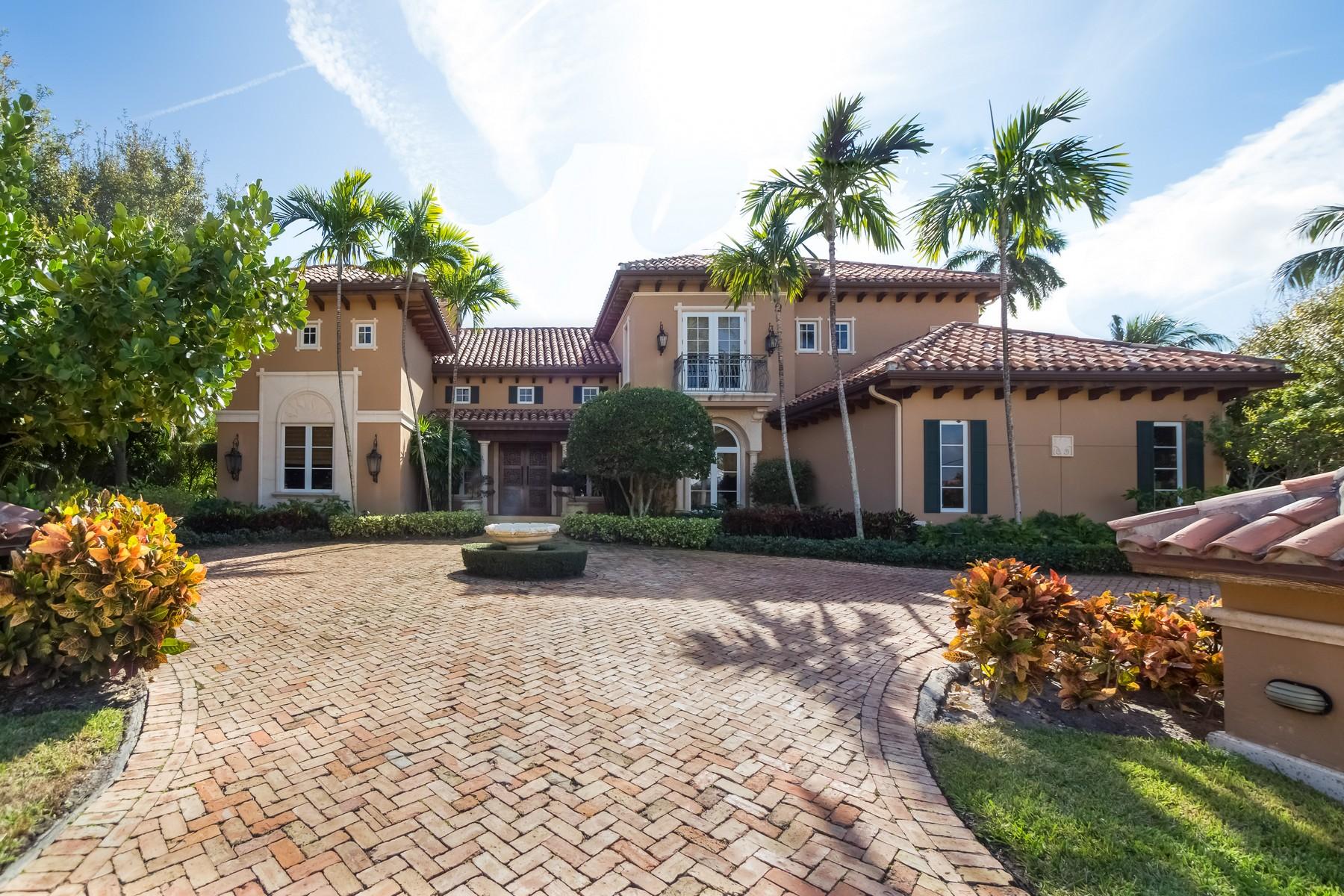 Casa para uma família para Venda às 100 Churchill Way , Manalapan, FL 33462 100 Churchill Way Manalapan, Florida 33462 Estados Unidos