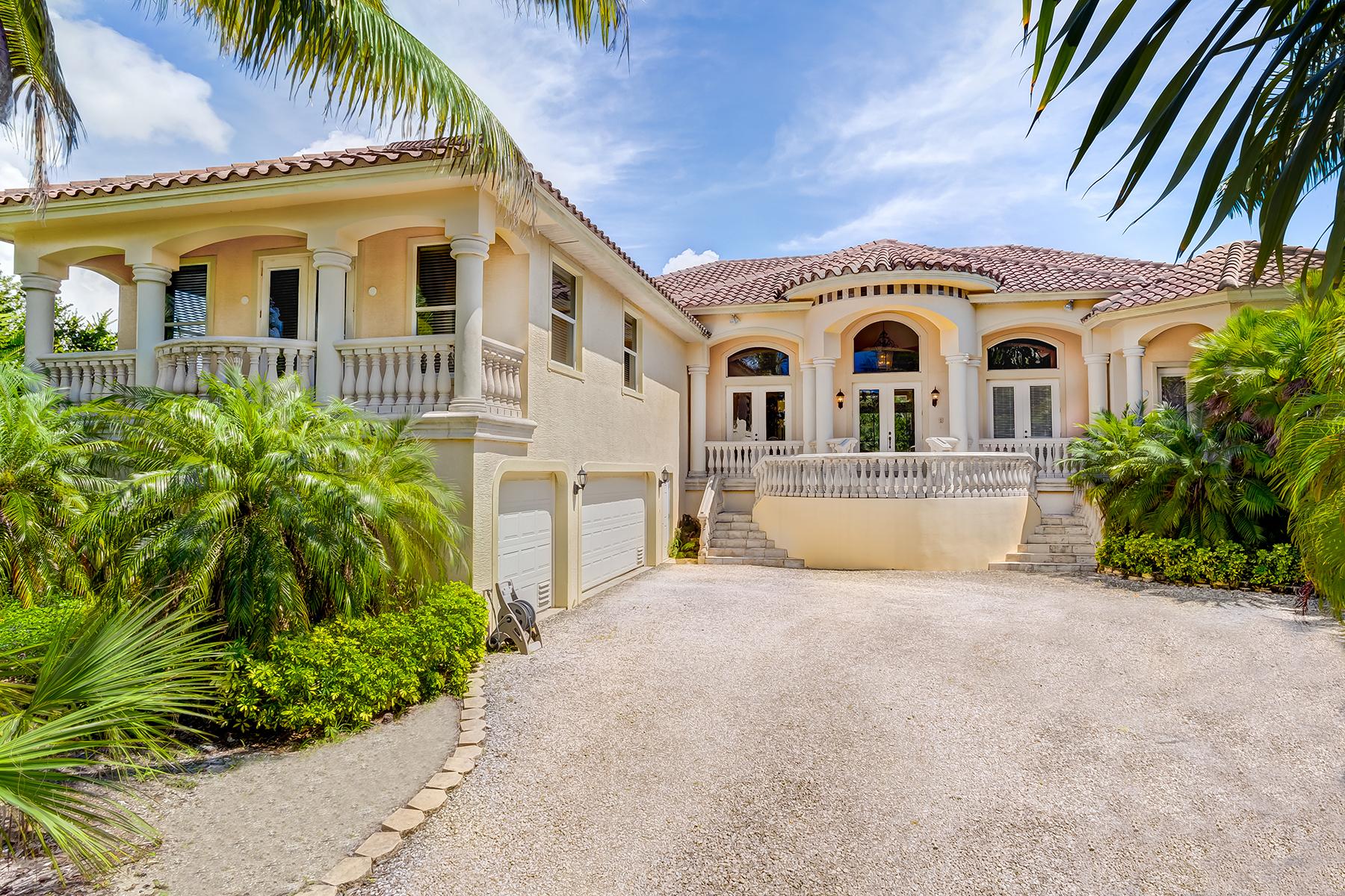独户住宅 为 销售 在 SANIBEL 2118 Starfish Ln 撒你贝尔, 佛罗里达州, 33957 美国