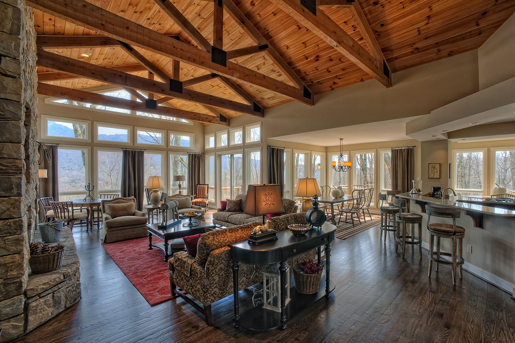 獨棟家庭住宅 為 出售 在 LINVILLE - LINVILLE RIDGE 1113 Vista Way 11 Linville, 北卡羅來納州, 28646 美國