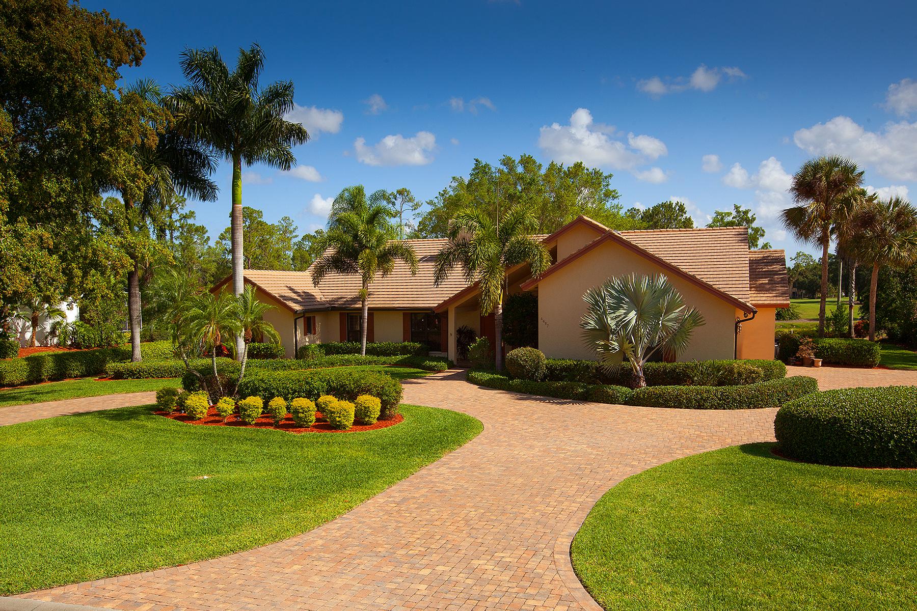 Частный односемейный дом для того Продажа на Naples 4687 Pond Apple Dr S Quail Creek, Naples, Флорида, 34119 Соединенные Штаты