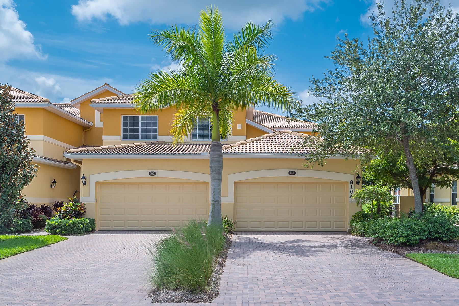 Condomínio para Venda às RIVER STRAND 8106 Grand Estuary Trl 104 Bradenton, Florida 34212 Estados Unidos