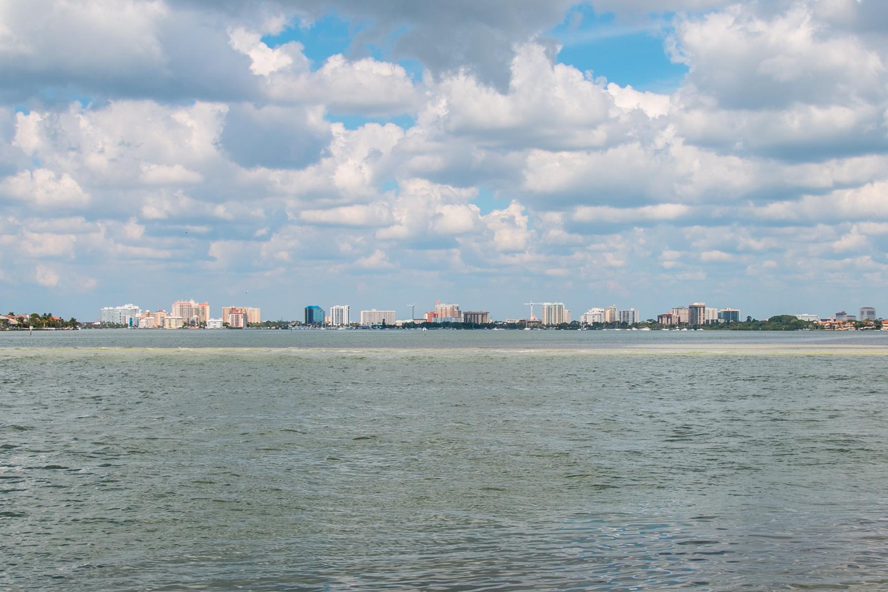 토지 용 매매 에 SIESTA KEY 3344 Gulfmead Dr 0 Sarasota, 플로리다 34242 미국