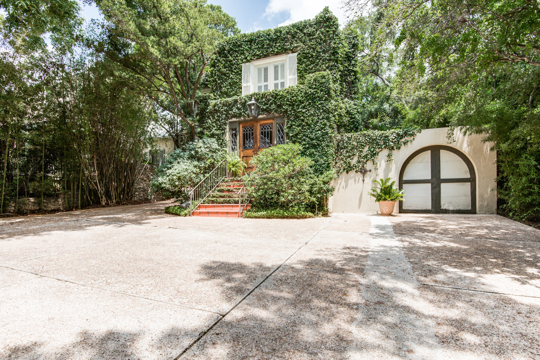 Property For Sale at Charming Ivy-Clad Home in Alamo Heights