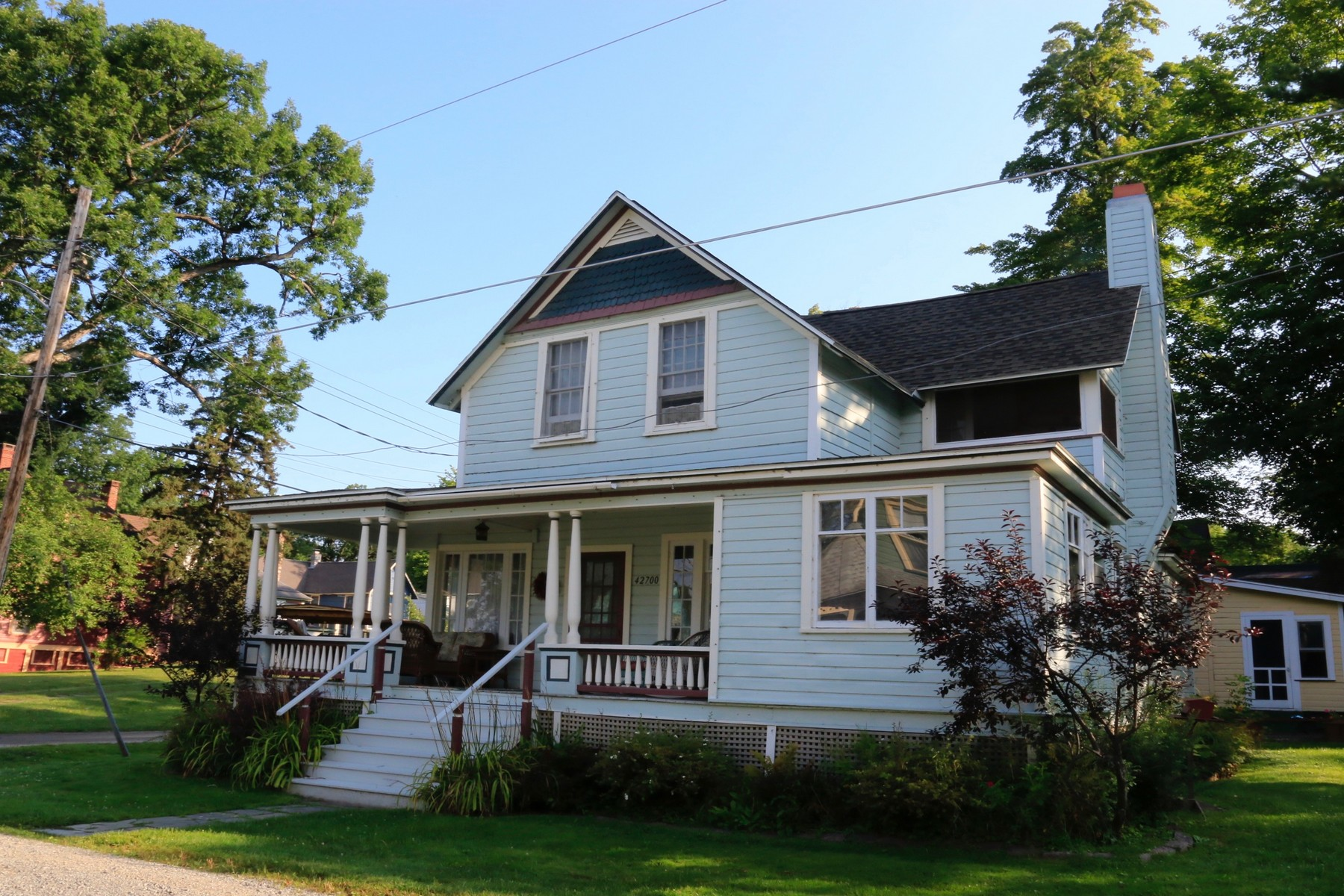 Single Family Home for Sale at Thousand Island Park 151 Ontario Ave Thousand Island Park, New York 13692 United States