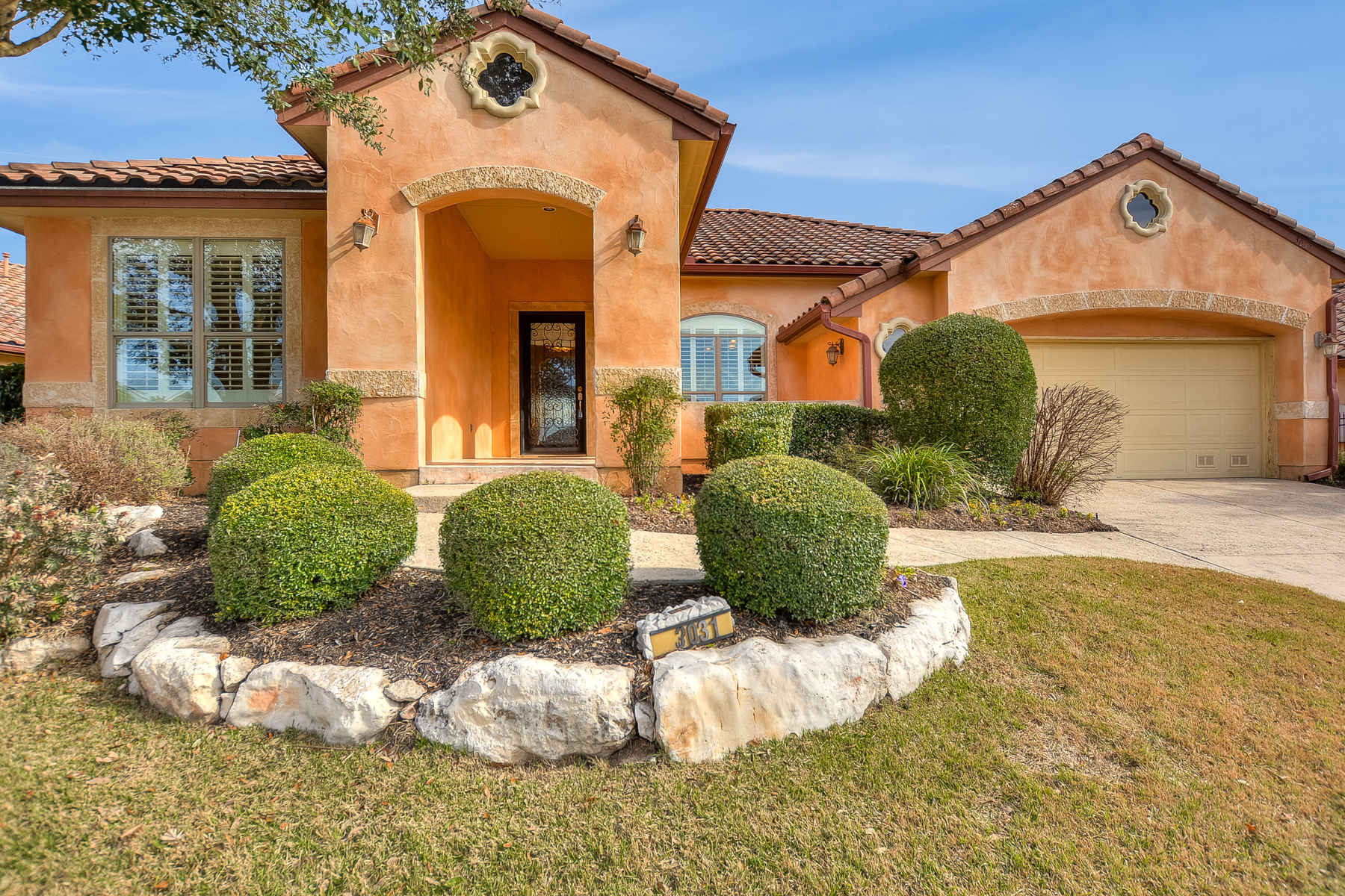 Single Family Home for Sale at Gorgeous Garden Home in Rogers Ranch 3031 Panzano Pl San Antonio, Texas 78258 United States