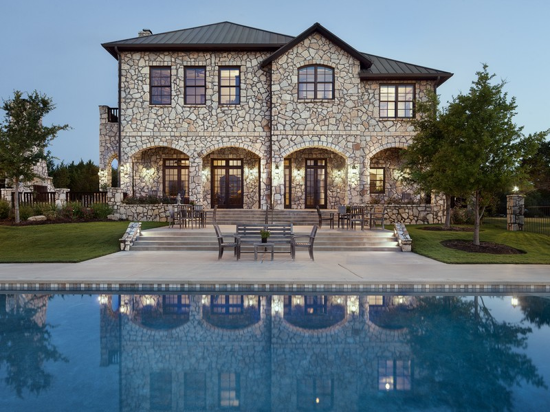 Single Family Home for Sale at Luxurious Estate 206 S Angel Light Dr Austin, Texas 78669 United States