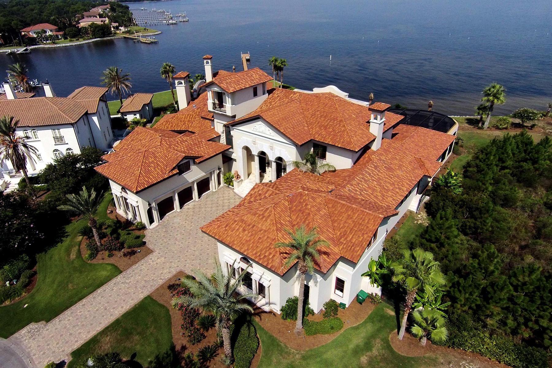 Casa Unifamiliar por un Venta en WATERFRONT GRANDEUR 4300 Breakwater Dr Destin, Florida 32541 Estados Unidos