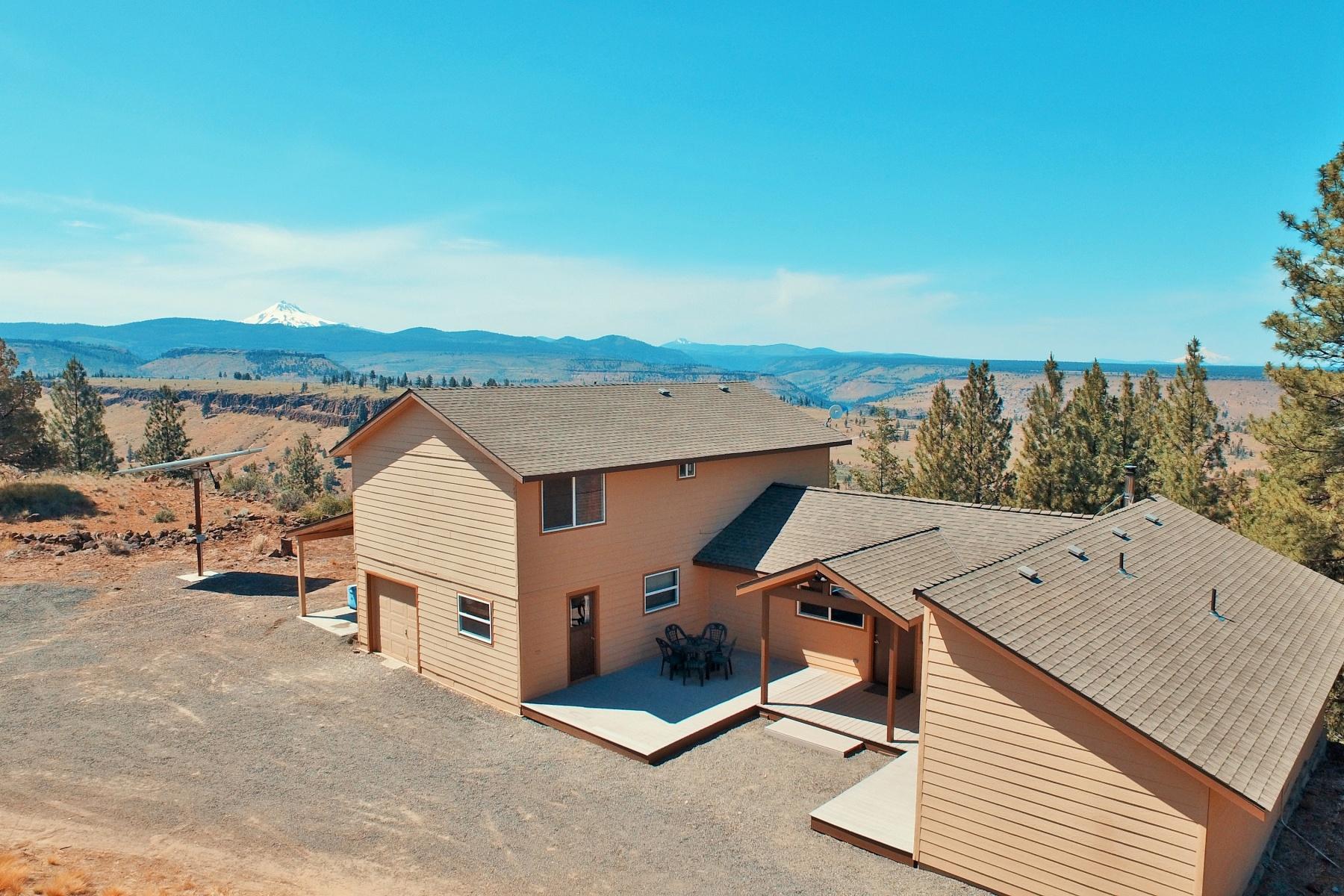 独户住宅 为 销售 在 5+ Ac Home w Expensive Views 13908 SW Airstrip Ln 卡尔弗, 俄勒冈州, 97734 美国