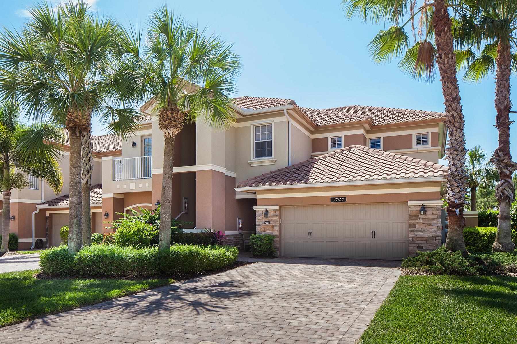 Property For Sale at 9213 Quartz Ln , 102, Naples, FL 34120