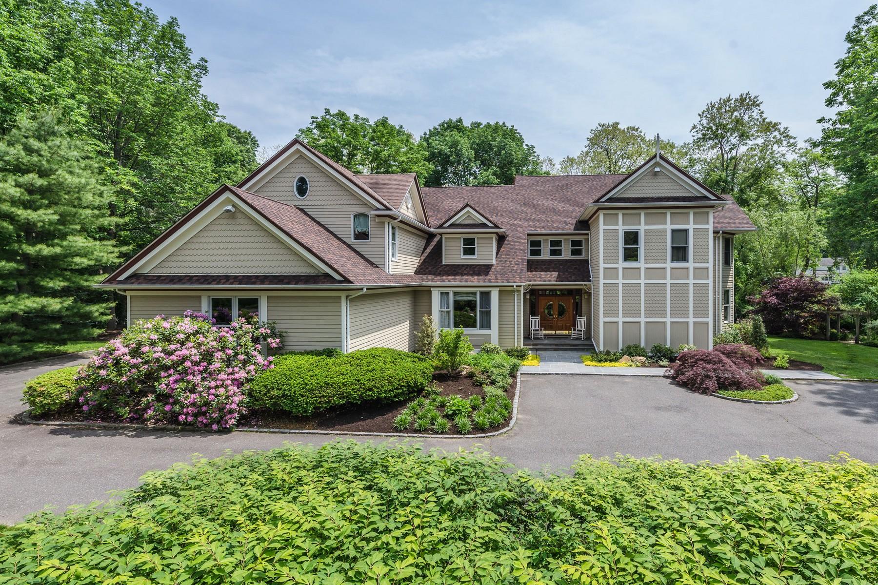 Maison unifamiliale pour l Vente à Wawapek Retreat 4 Toboggan Hill Path Cold Spring Harbor, New York 11724 États-Unis