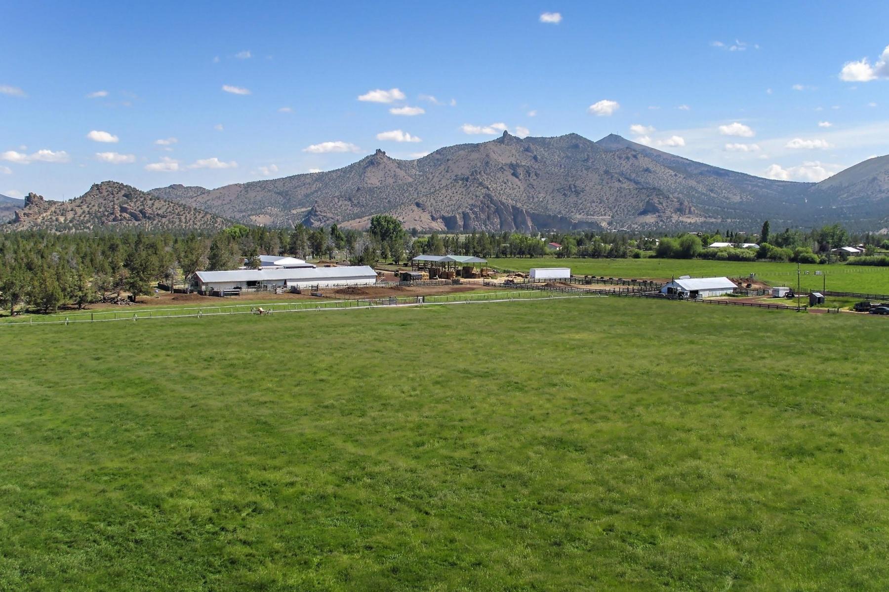 农场 / 牧场 / 种植园 为 销售 在 9600 N Highway 97, TERREBONNE 泰勒伯恩, 俄勒冈州, 97760 美国