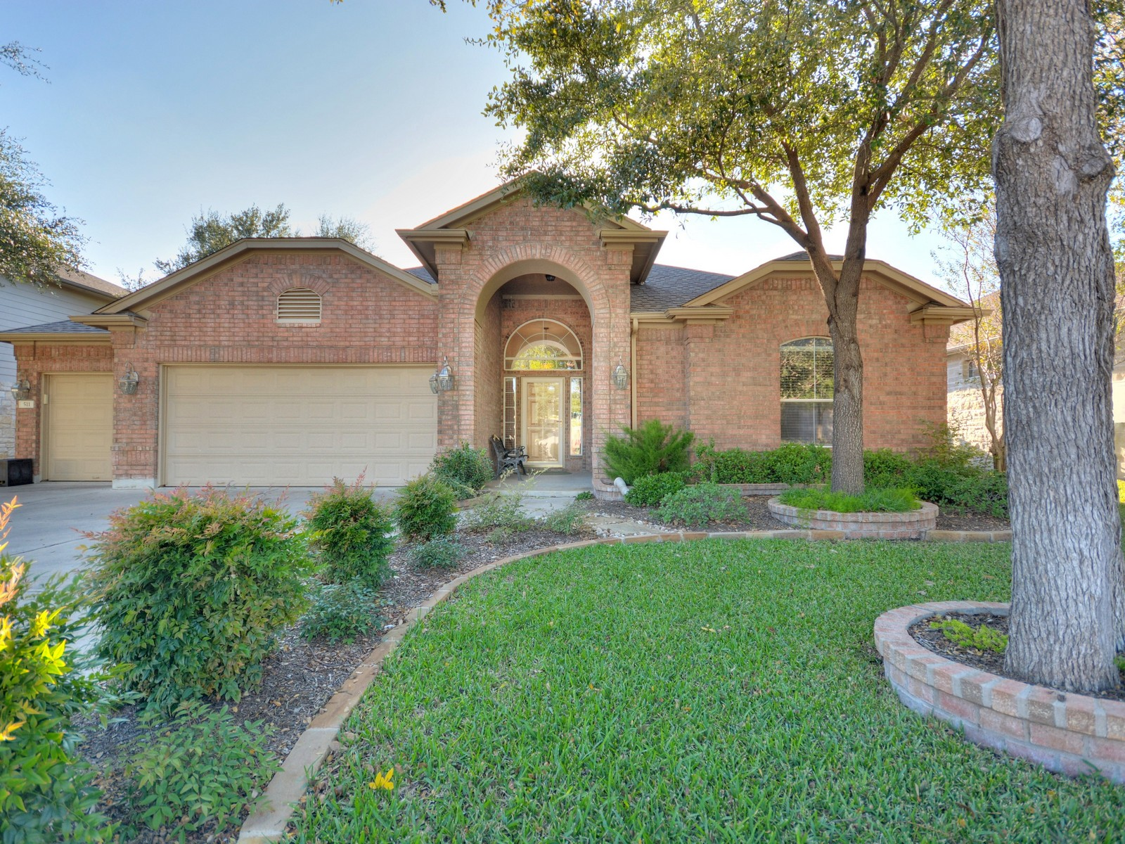 Single Family Home for Sale at Pristine One Story on Greenbelt 511 Mandarin Flyway Cedar Park, Texas 78613 United States