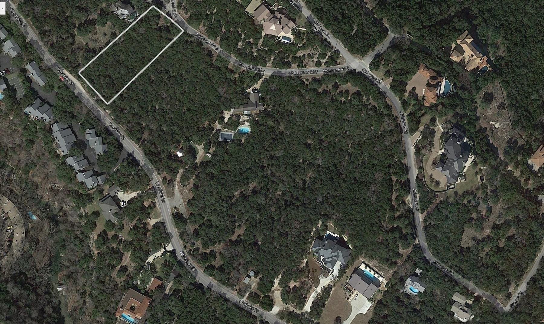 Land for Sale at Build Your Dream Home in Westlake Westlake Dr Lot 4 Austin, Texas 78746 United States