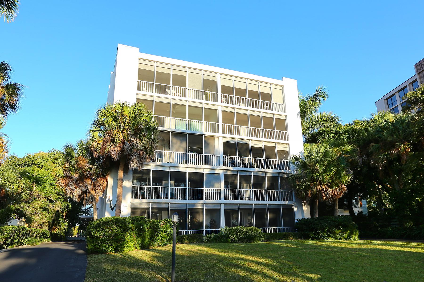 콘도미니엄 용 매매 에 DOWNTOWN SARASOTA 605 S Gulfstream Ave 4A Sarasota, 플로리다 34236 미국