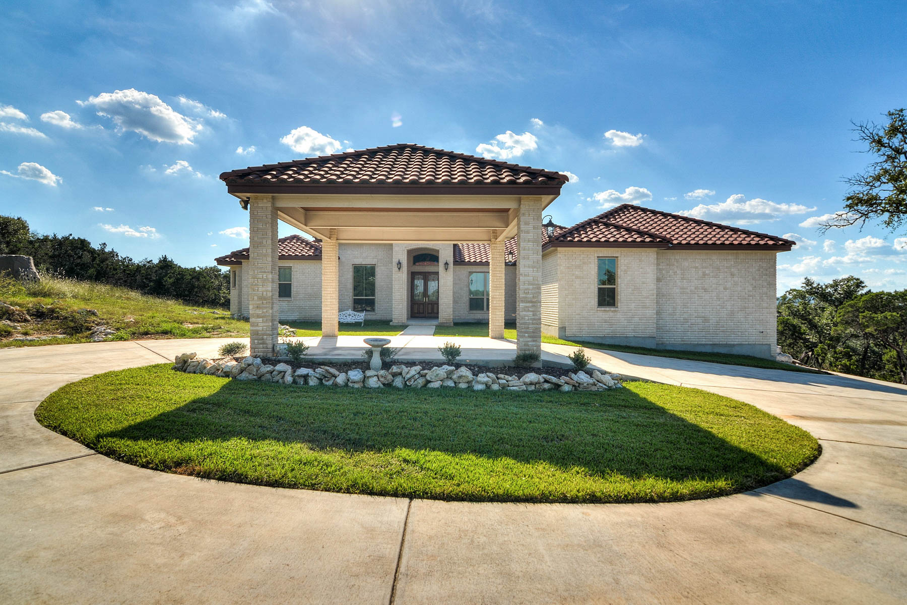 Single Family Home for Sale at Beautiful Custom Holloway Hill Country Home 22813 East Range San Antonio, Texas 78255 United States