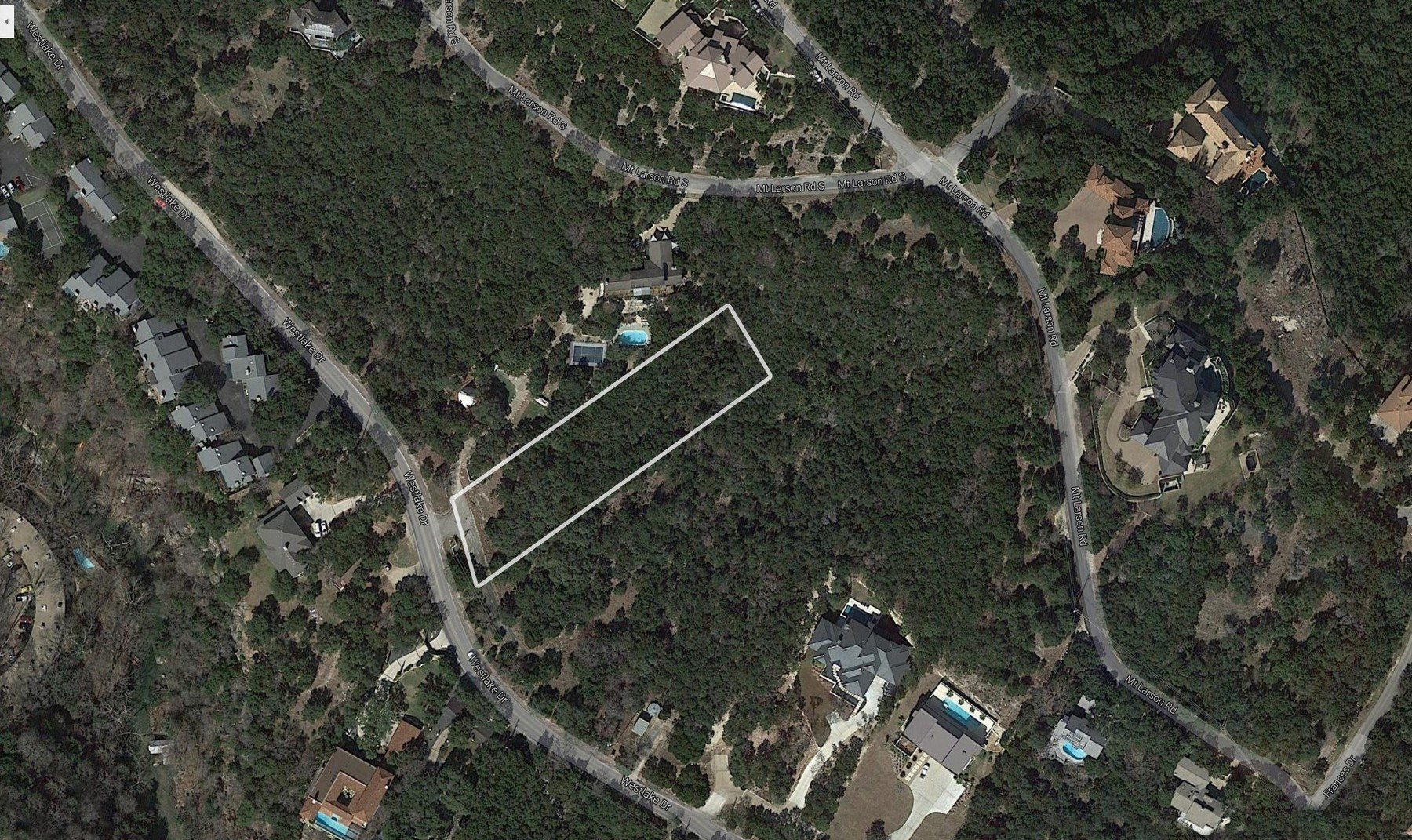 Land for Sale at Build your Dream Home in Westlake 1854 Westlake Dr Lot 8 Austin, Texas 78746 United States