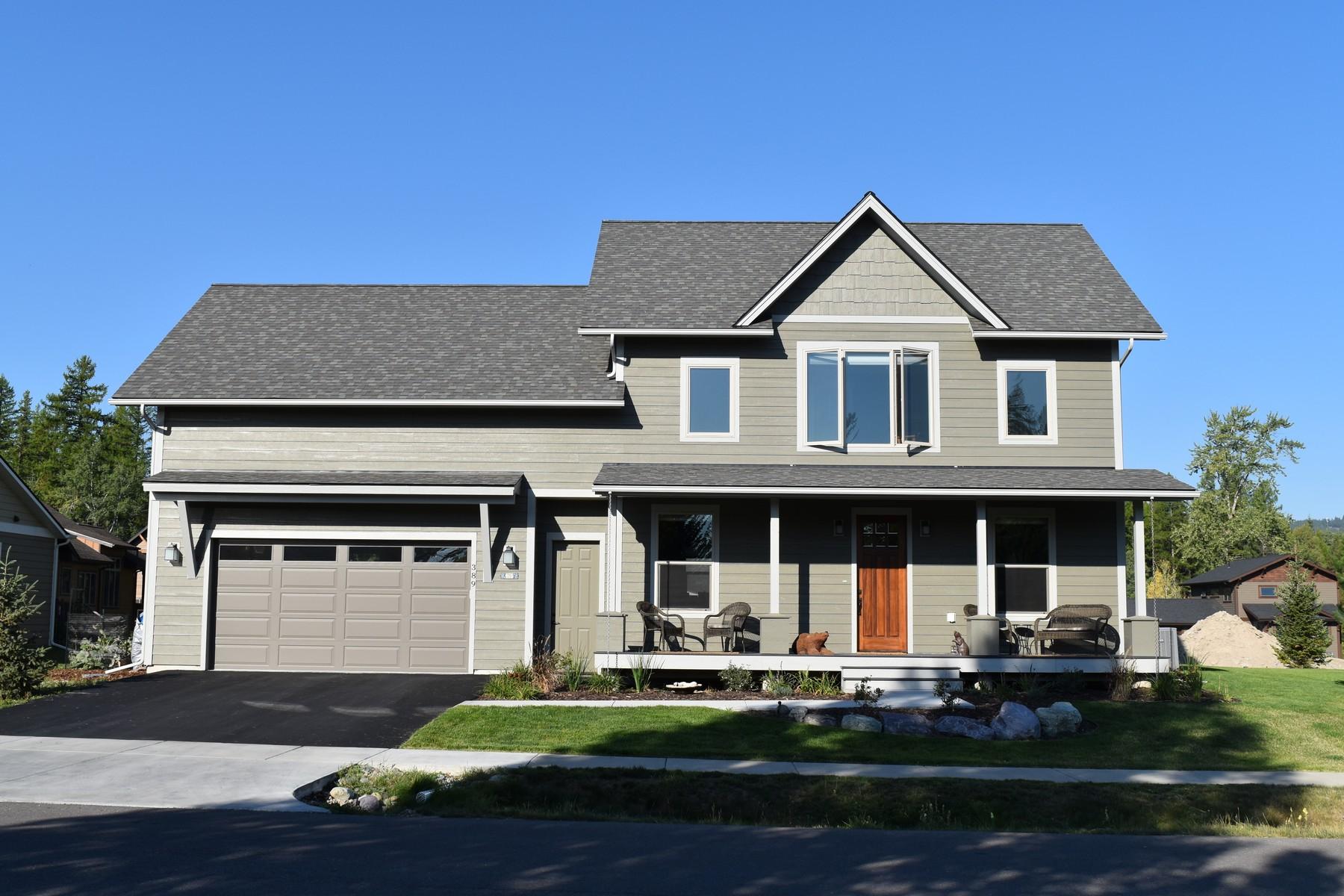 Einfamilienhaus für Verkauf beim Newer Whitefish Home 389 Sawtooth Dr Whitefish, Montana, 59937 Vereinigte Staaten
