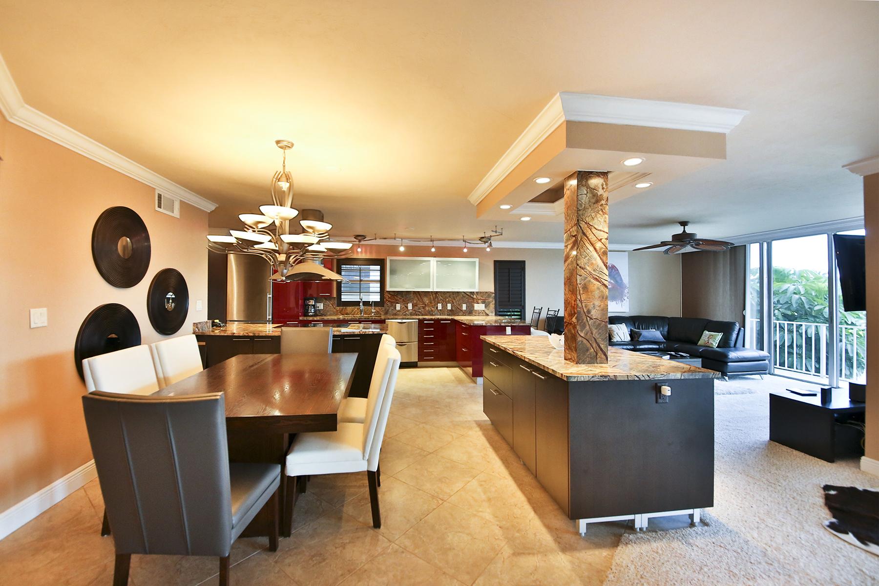 콘도미니엄 용 매매 에 MARCO ISLAND - NAUTILUS 848 Collier Ct 205 Marco Island, 플로리다 34145 미국