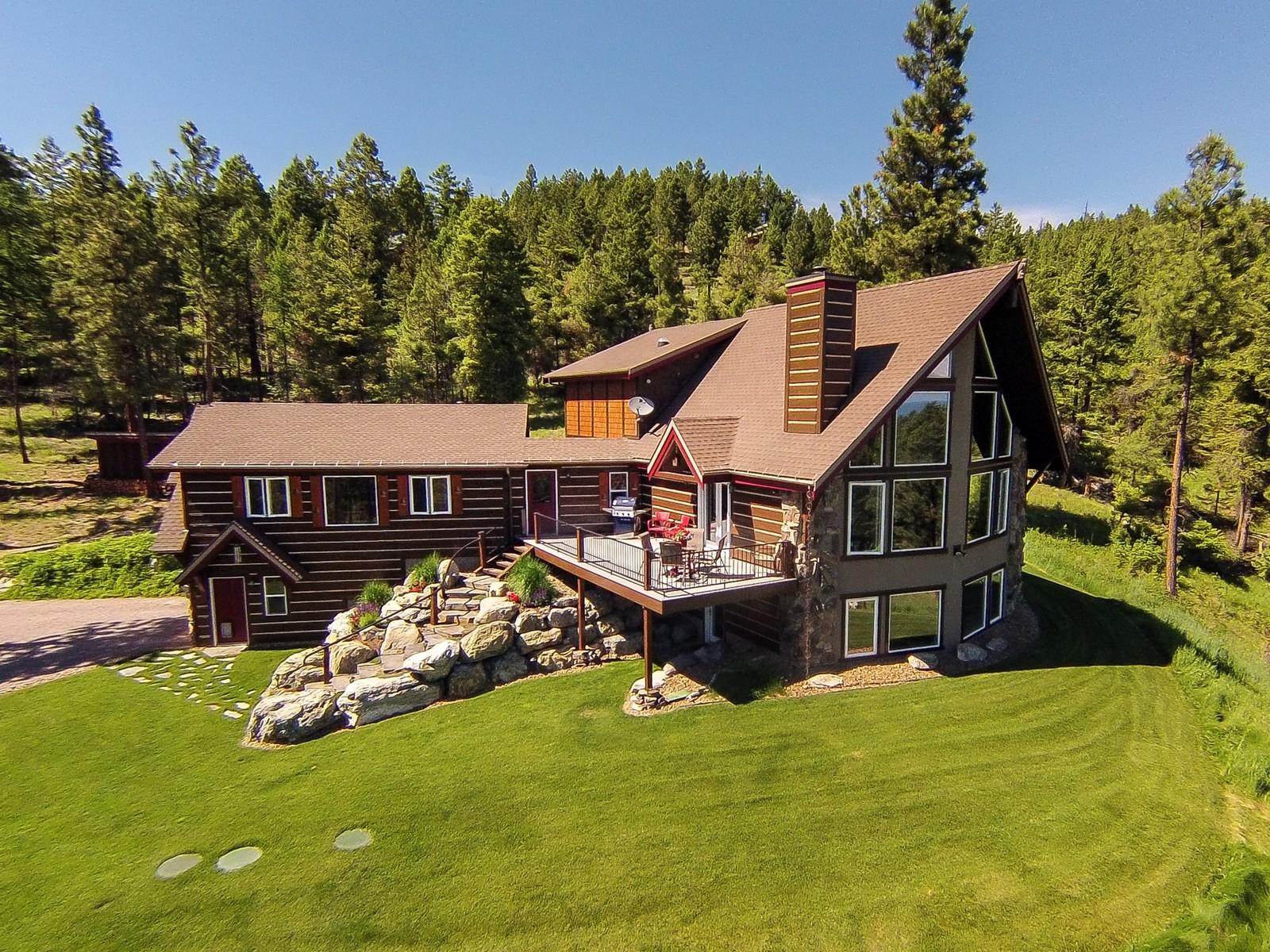 一戸建て のために 売買 アット 121 White Bison Trail 121 White Bison Trl Somers, モンタナ, 59932 アメリカ合衆国