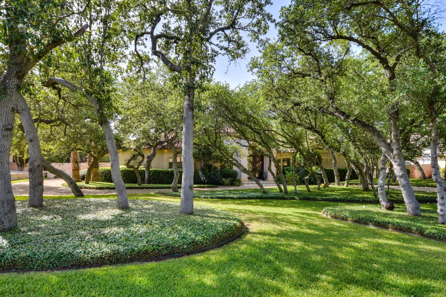 獨棟家庭住宅 為 出售 在 Custom One-Story Home in Shavano Park 310 Harvard Oak Shavano Creek, San Antonio, 德克薩斯州, 78230 美國