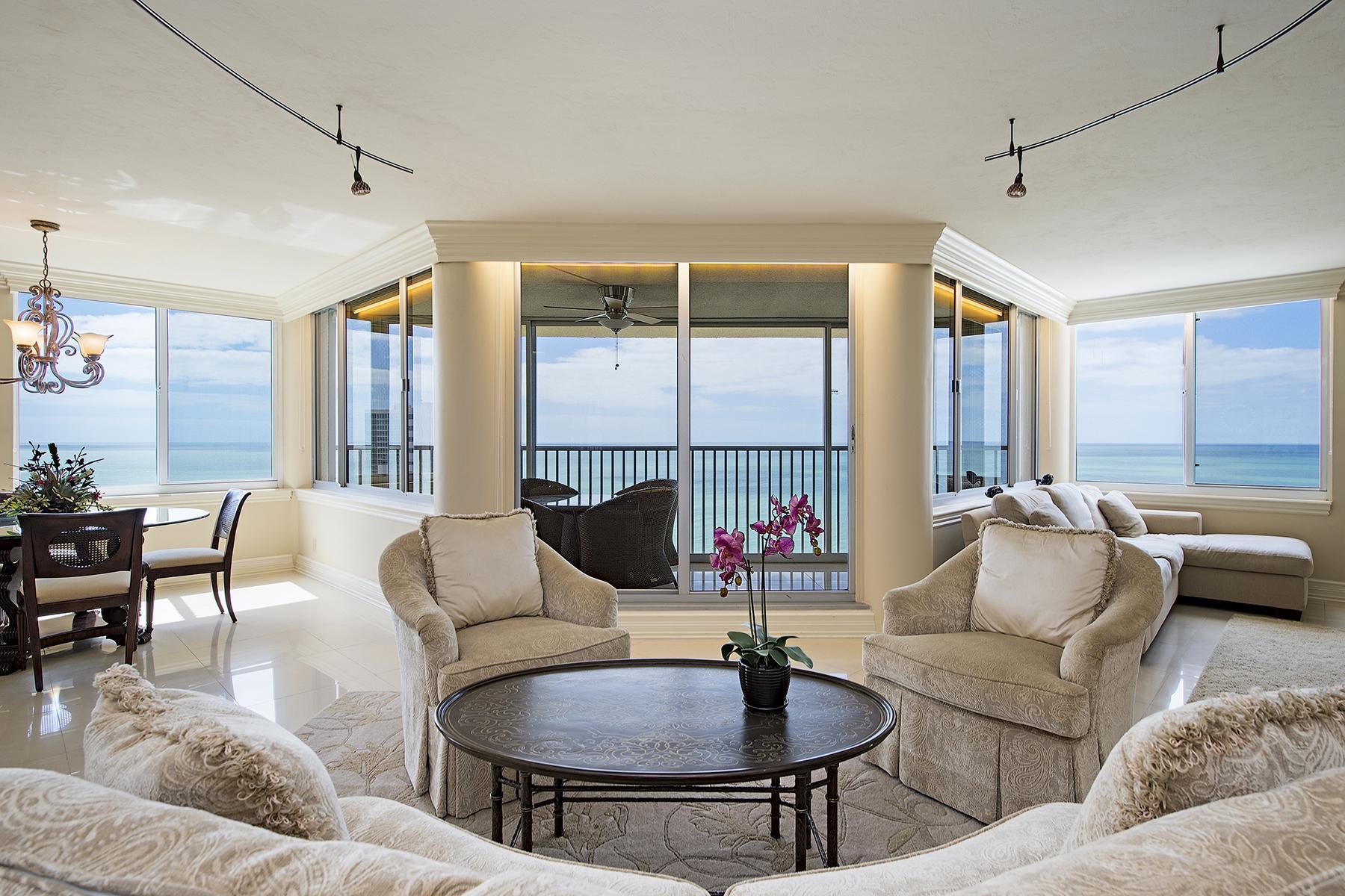 콘도미니엄 용 매매 에 PARK SHORE - SAVOY 4041 Gulf Shore Blvd N 1801 Naples, 플로리다, 34103 미국