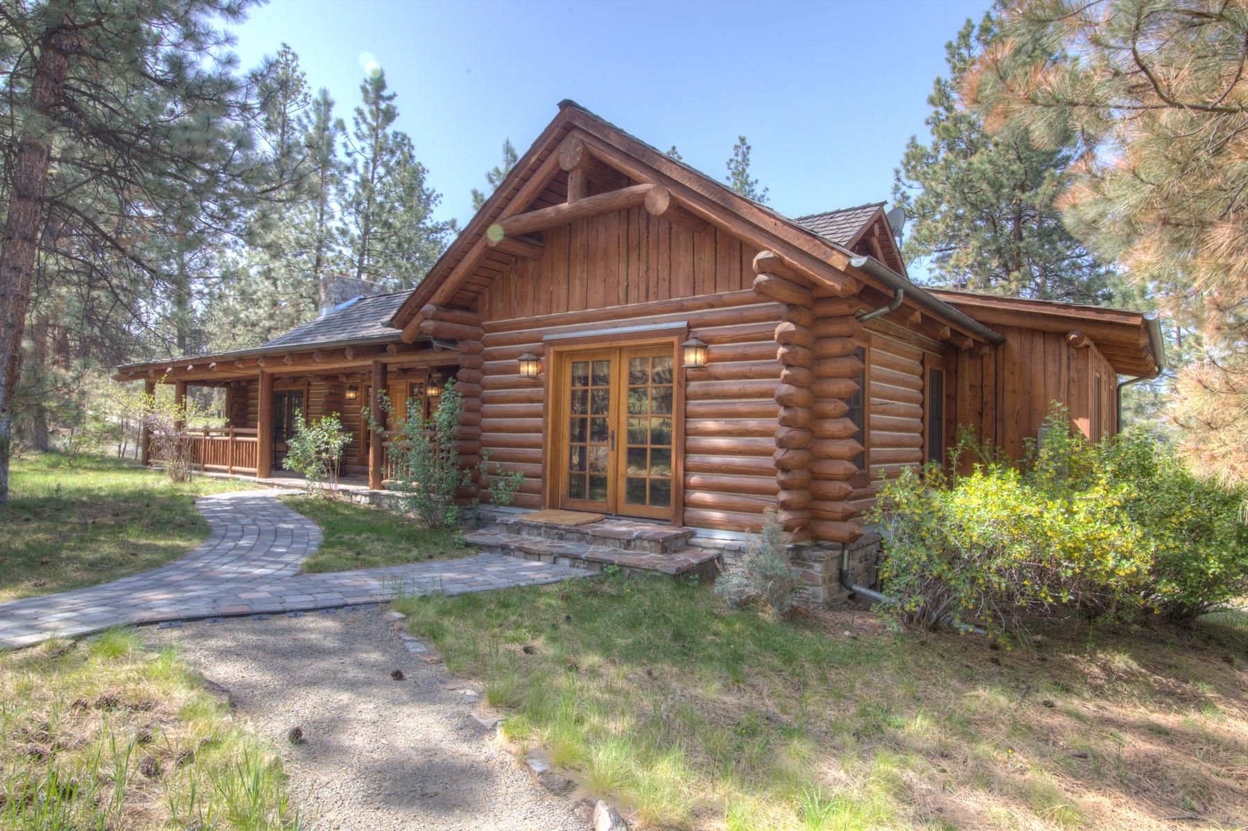 Single Family Home for Sale at Stock Farm Cabin 3 700 Pallo Trail Hamilton, Montana, 59840 United States