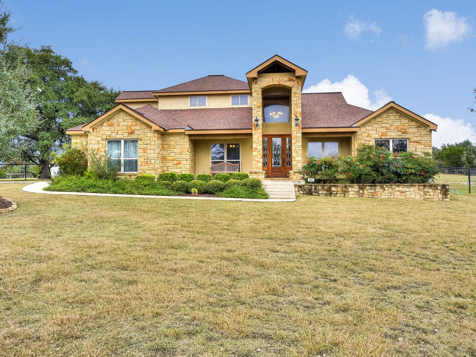 Casa Unifamiliar por un Venta en The Estates at Turtle Creek 774 Estates Dr Kerrville, Texas 78028 Estados Unidos