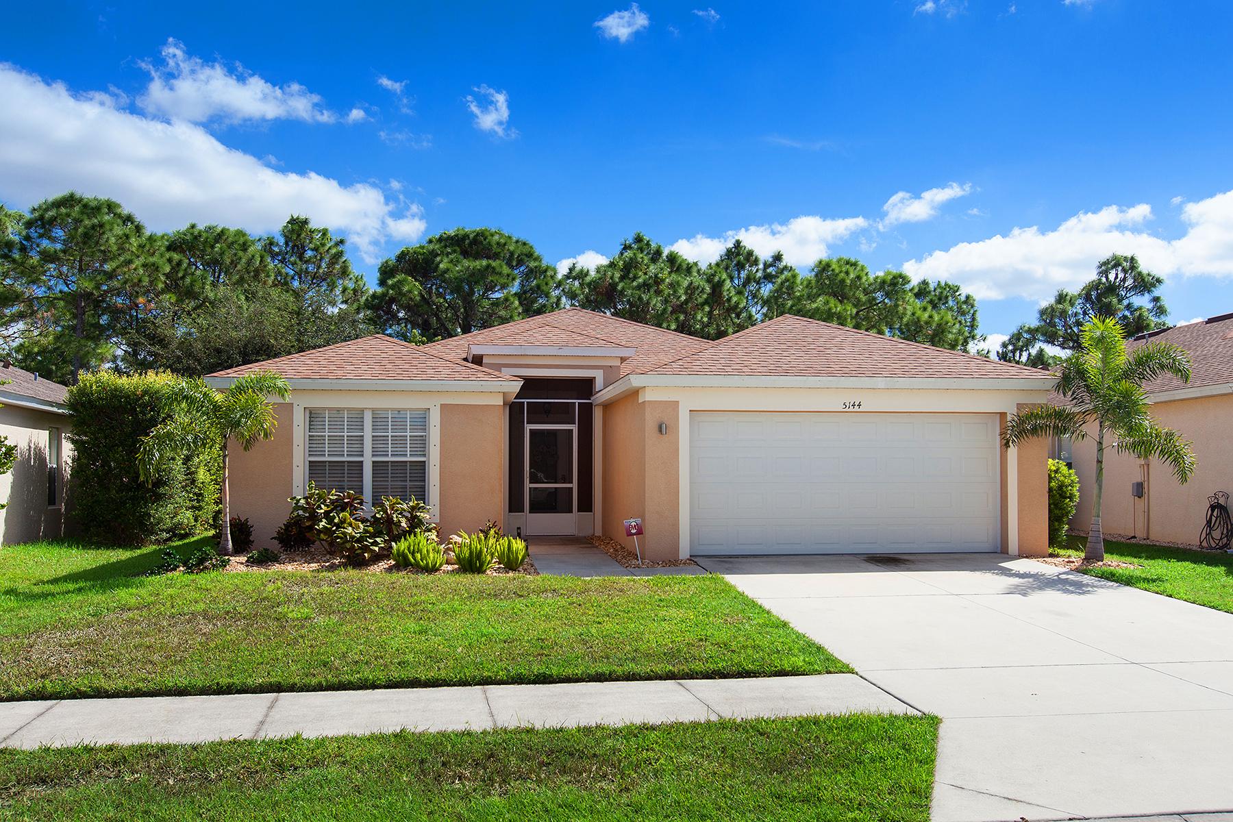 Частный односемейный дом для того Продажа на VENTURA VILLAGE 5144 Layton Dr Venice, Флорида, 34293 Соединенные Штаты