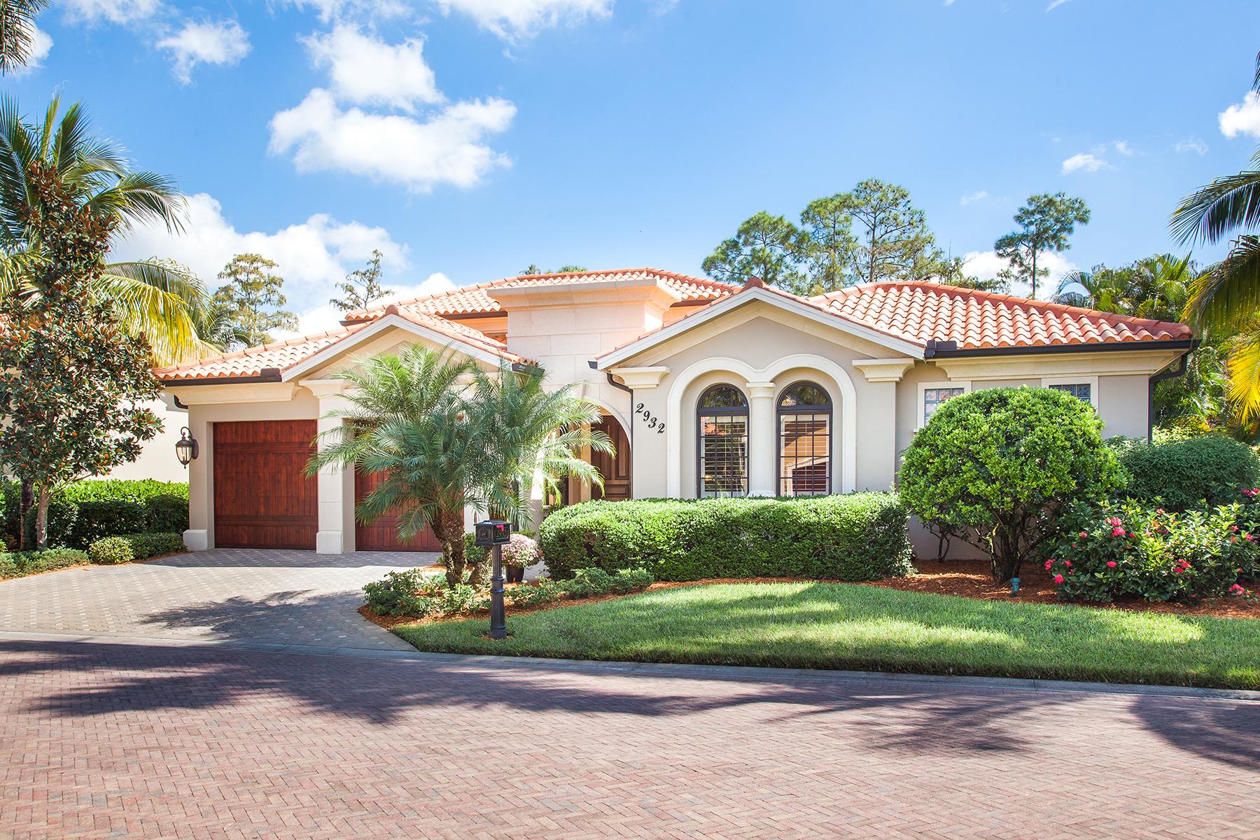 Casa Unifamiliar por un Venta en TIBURON - SERAFINA AT TIBURON 2932 Tiburon Blvd E Naples, Florida 34109 Estados Unidos