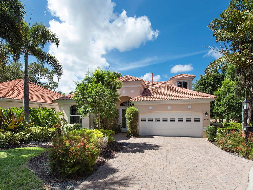 Частный односемейный дом для того Продажа на PRESTANCIA 7448 Monte Verde Sarasota, Флорида 34238 Соединенные Штаты