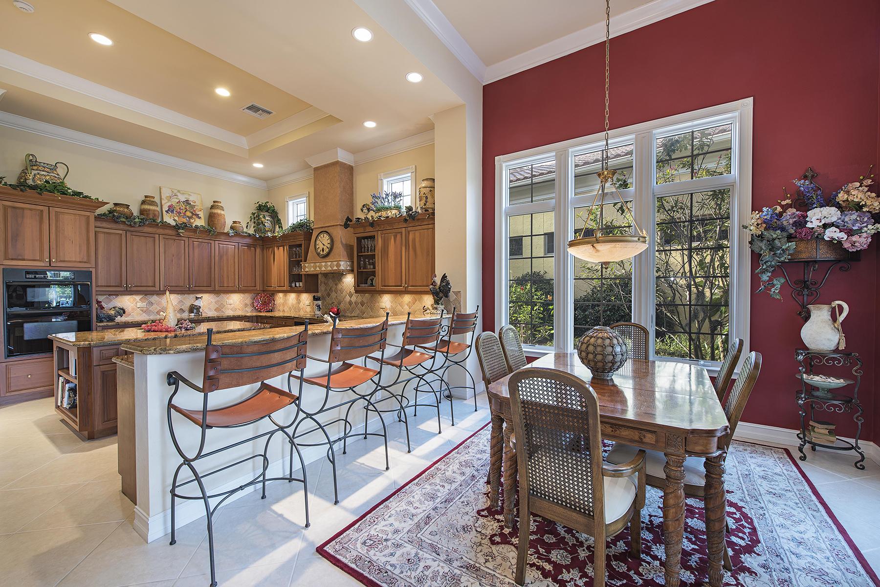 Casa Unifamiliar por un Venta en TERRABELLA IN PELICAN MARSH 9024 Terranova Dr Naples, Florida 34109 Estados Unidos