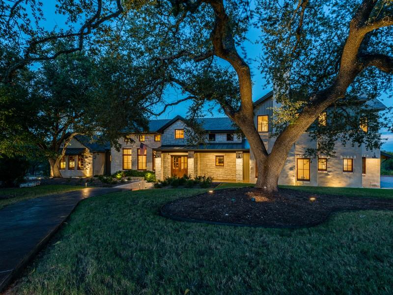 Single Family Home for Sale at Gorgeous Beachfront Home 18000 Glenville Cv Austin, Texas 78738 United States