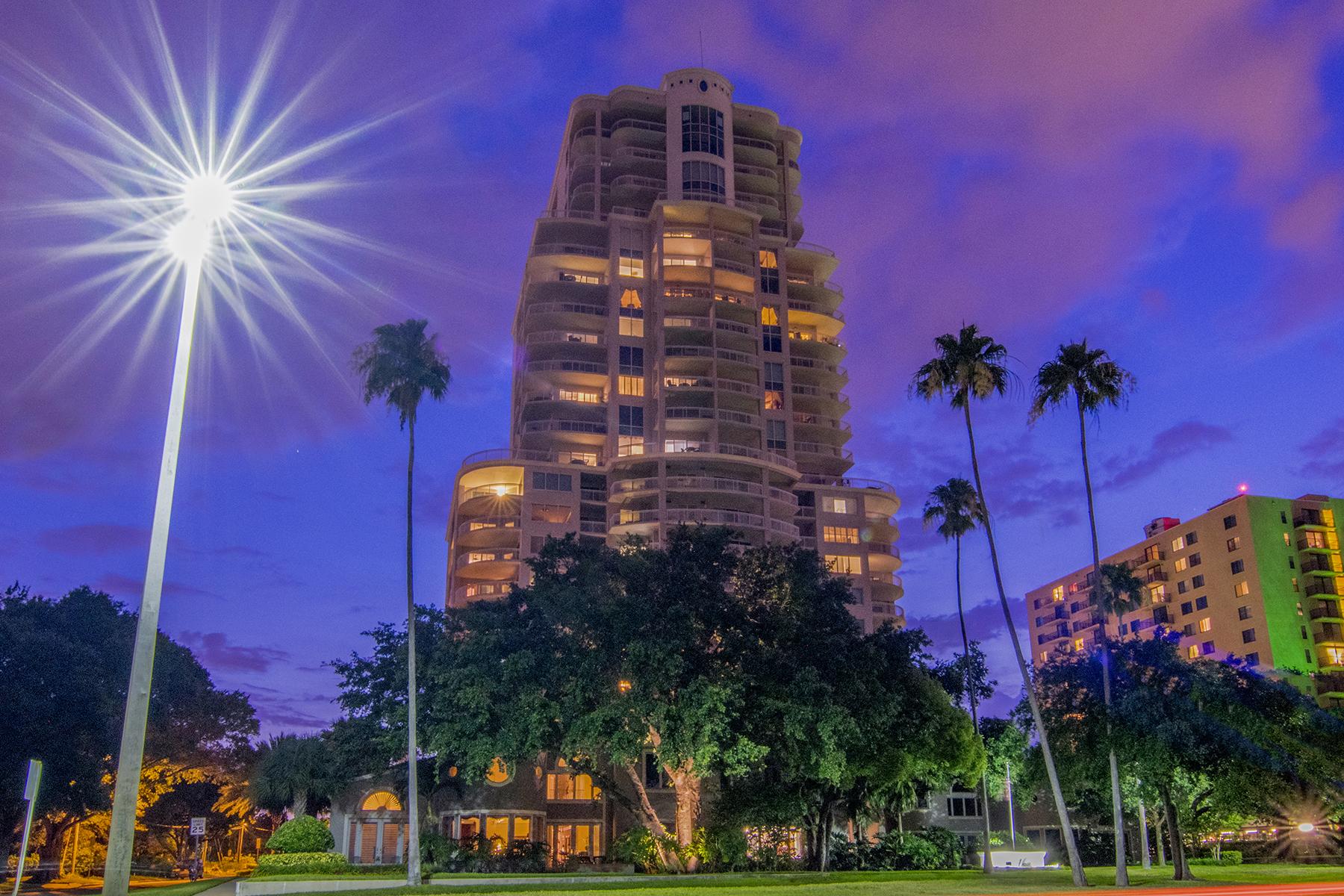 共管式独立产权公寓 为 销售 在 SOUTH TAMPA 3507 Bayshore Blvd 601 坦帕市, 佛罗里达州, 33629 美国