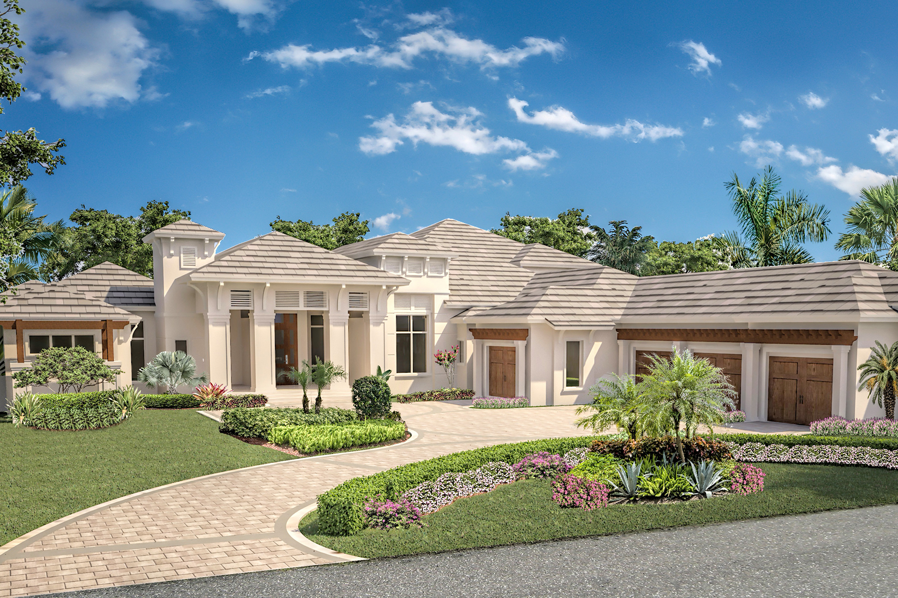 Vivienda unifamiliar por un Venta en 1245 Gordon River Trl , Naples, FL 34105 1245 Gordon River Trl Naples, Florida 34105 Estados Unidos