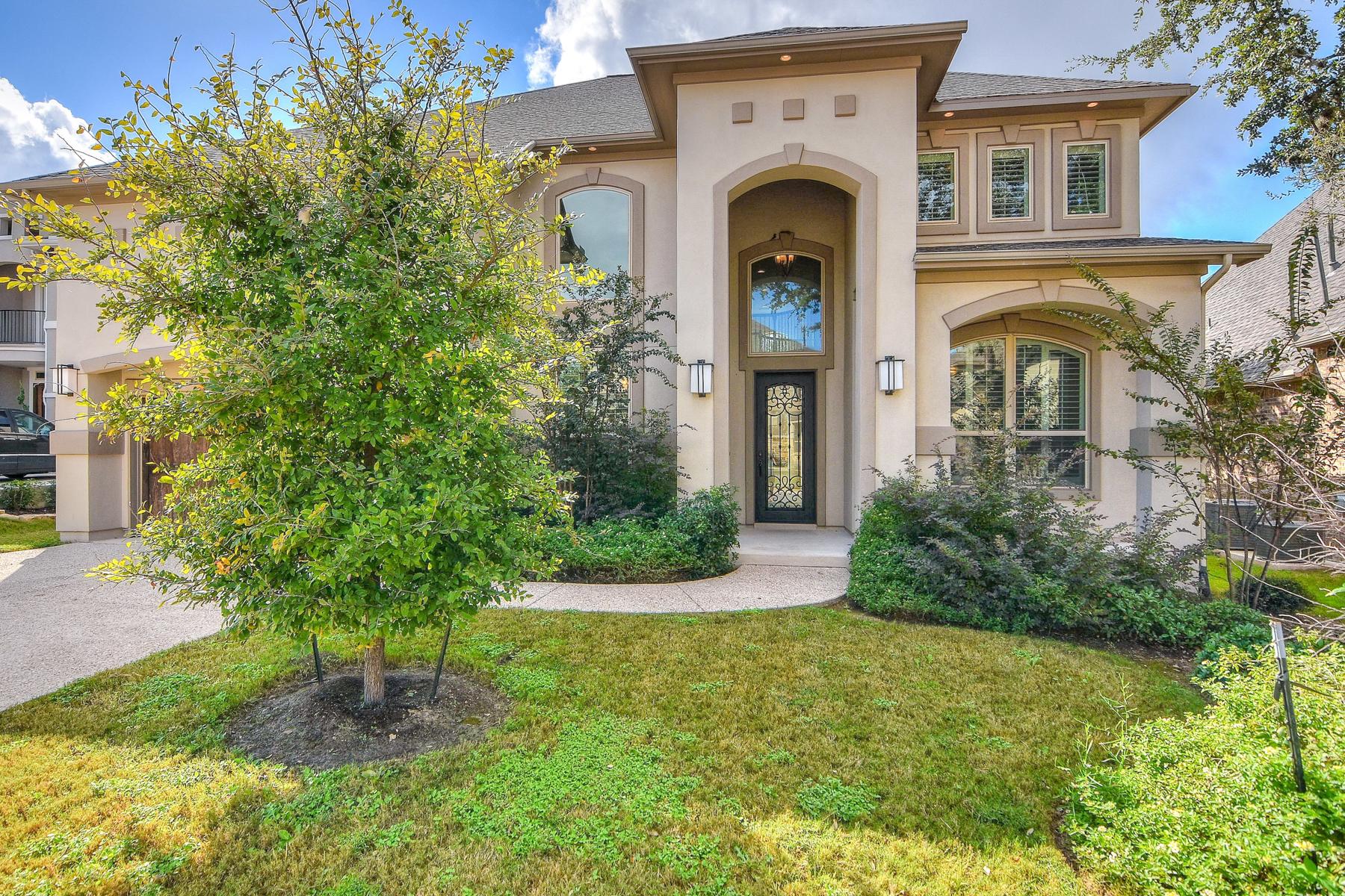 Casa Unifamiliar por un Venta en Mediterranean Beauty in Estates of Alon 2314 Dunmore Hill San Antonio, Texas 78230 Estados Unidos
