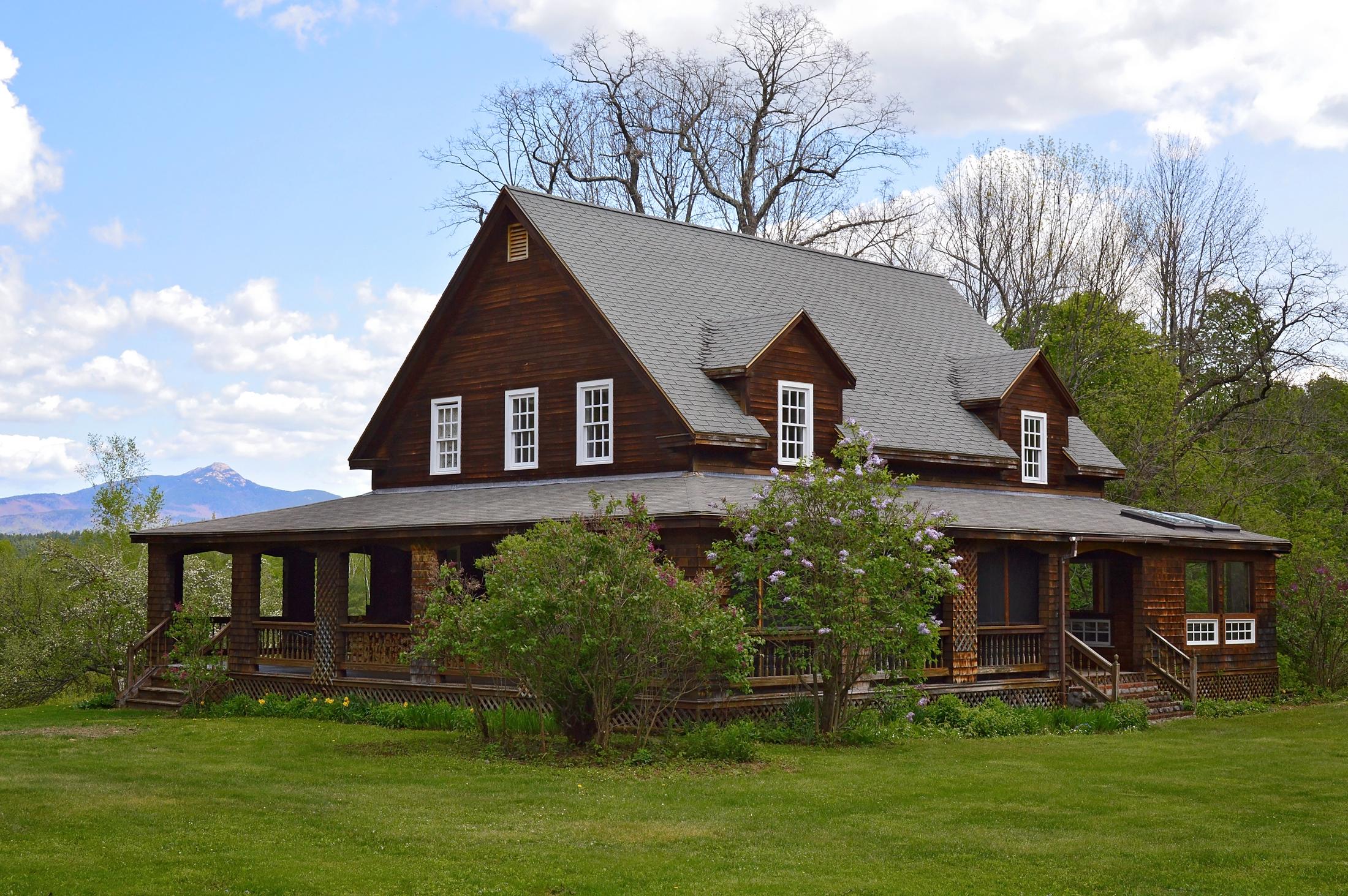 Maison unifamiliale pour l Vente à Peaceful Cleveland Hill Retreat 2248 Cleveland Hill Rd Tamworth, New Hampshire, 03886 États-Unis