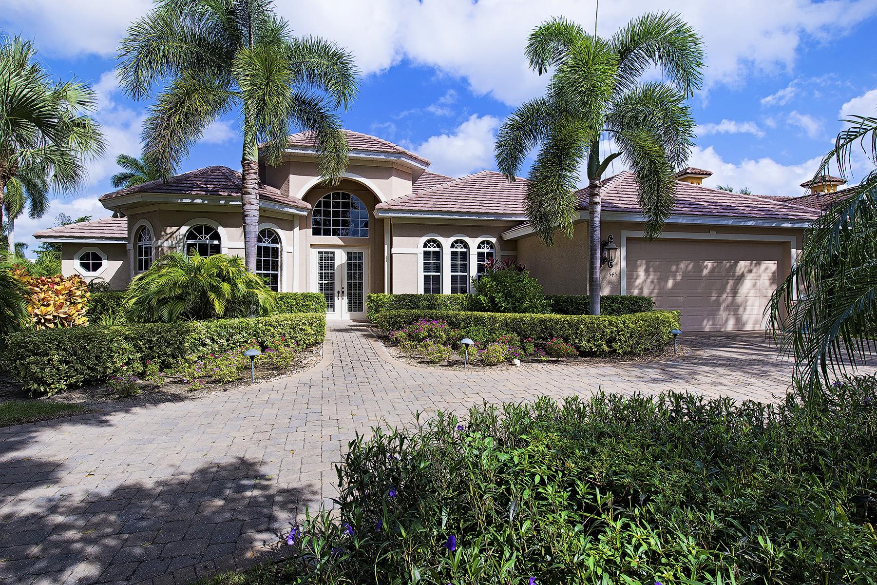 Moradia para Venda às THE MORRINGS 545 Riviera Dr Naples, Florida 34103 Estados Unidos