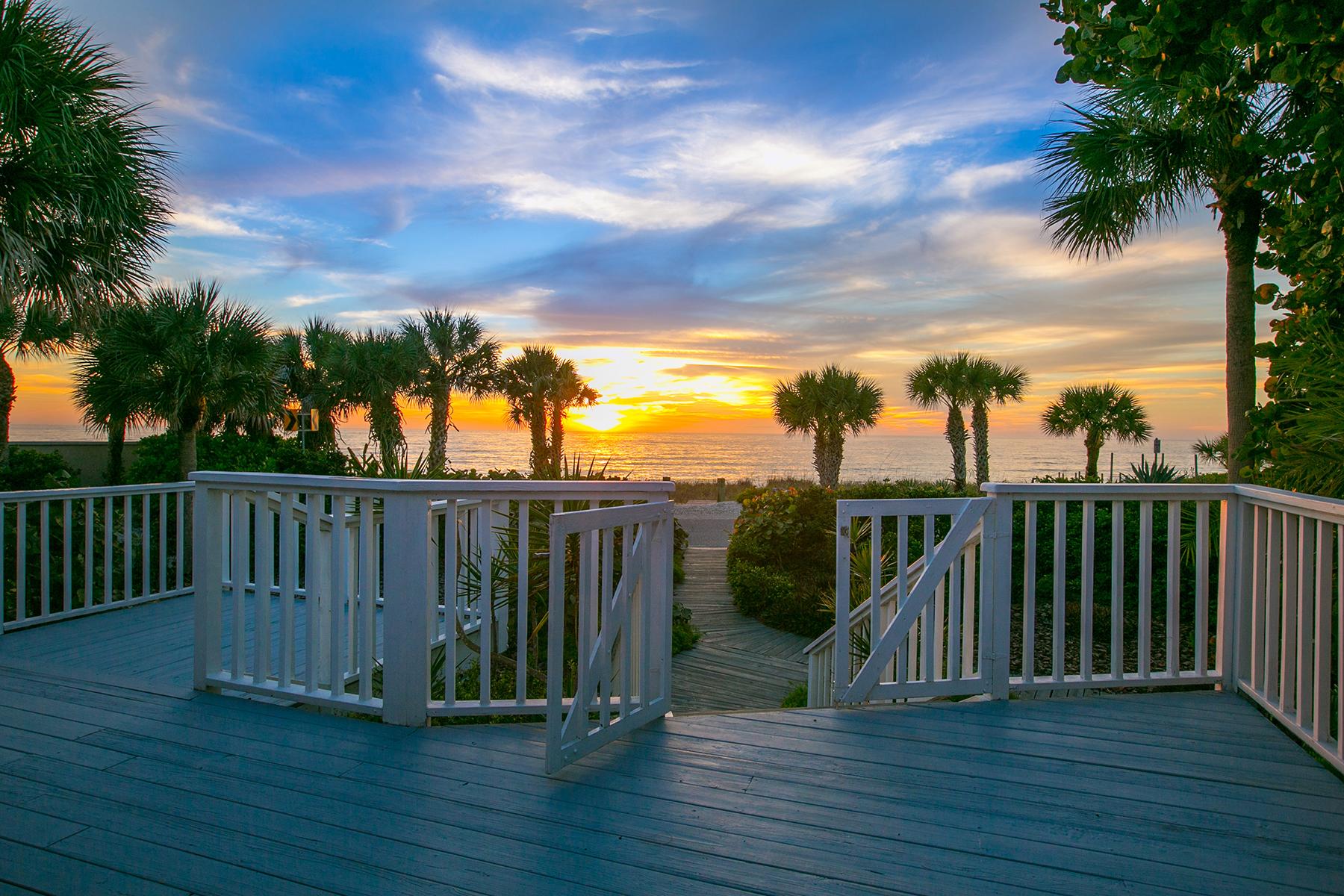 Casa Unifamiliar por un Venta en CASEY KEY 1300 Casey Key Rd Casey Key, Nokomis, Florida 34275 Estados Unidos