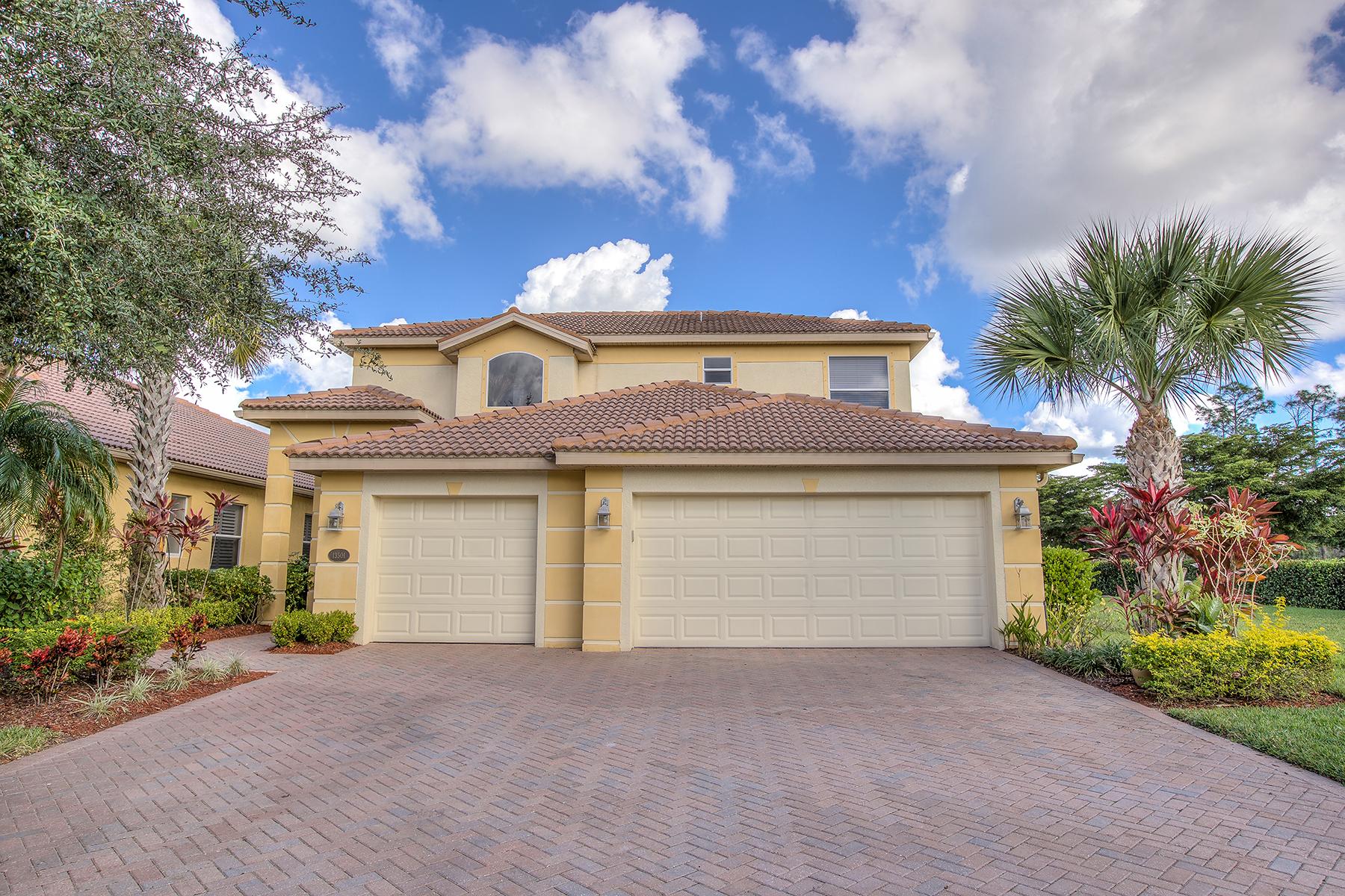 独户住宅 为 销售 在 BELLA TERRA 13501 Troia Dr 埃斯特罗, 佛罗里达州, 33928 美国