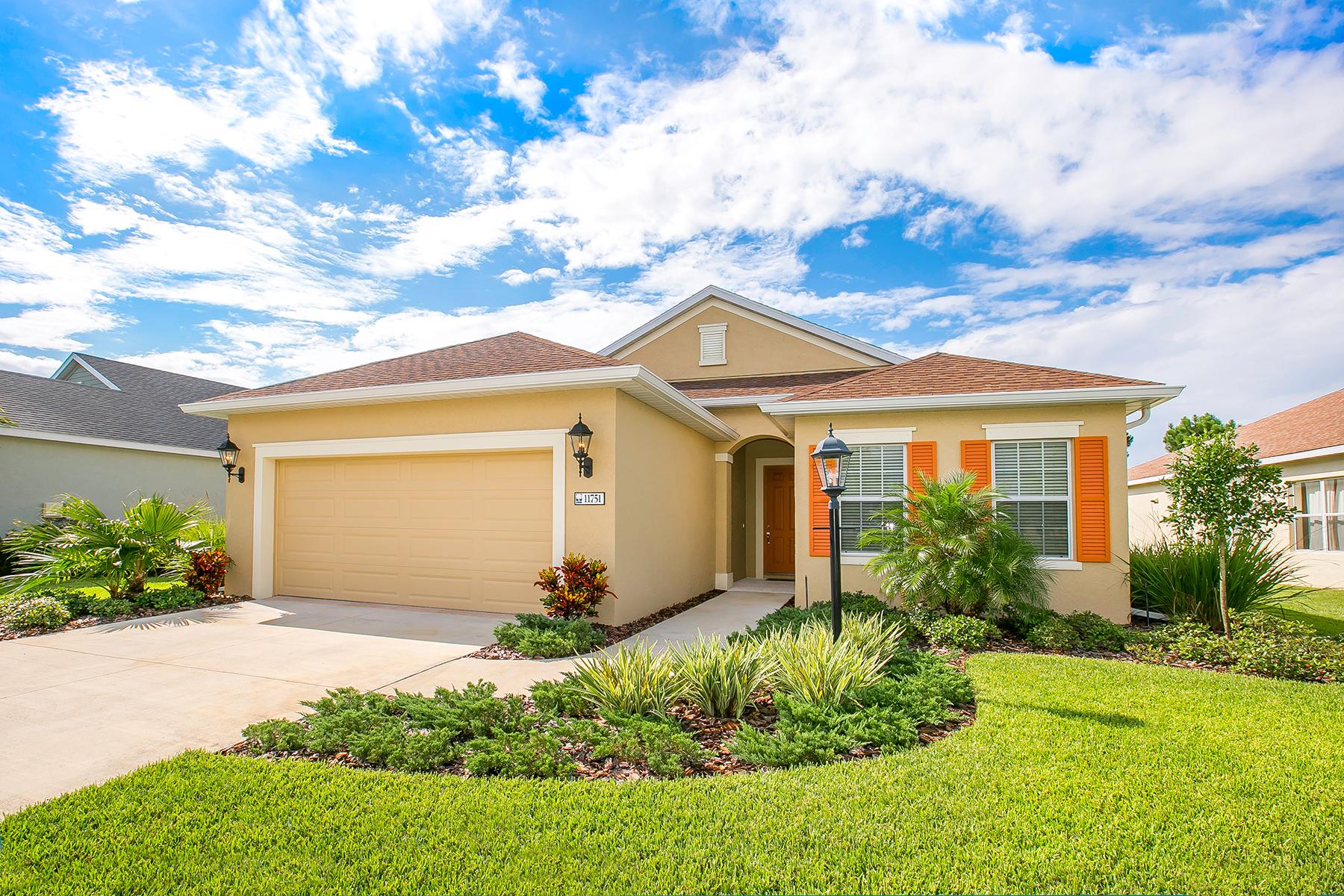 Moradia para Venda às FOREST CREEK 11751 Fennemore Way Parrish, Florida 34219 Estados Unidos