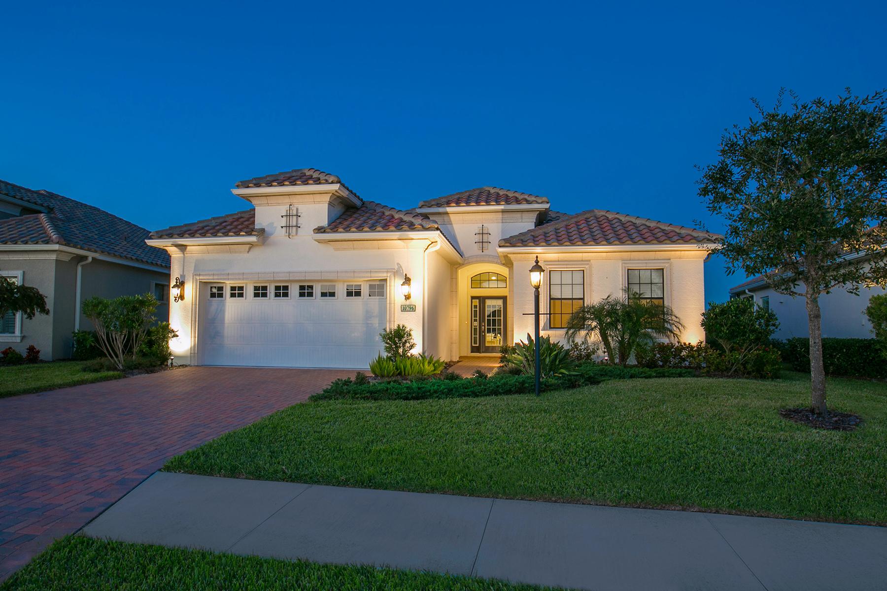 단독 가정 주택 용 매매 에 BOCA ROYALE 10796 Trophy Dr Englewood, 플로리다, 34223 미국