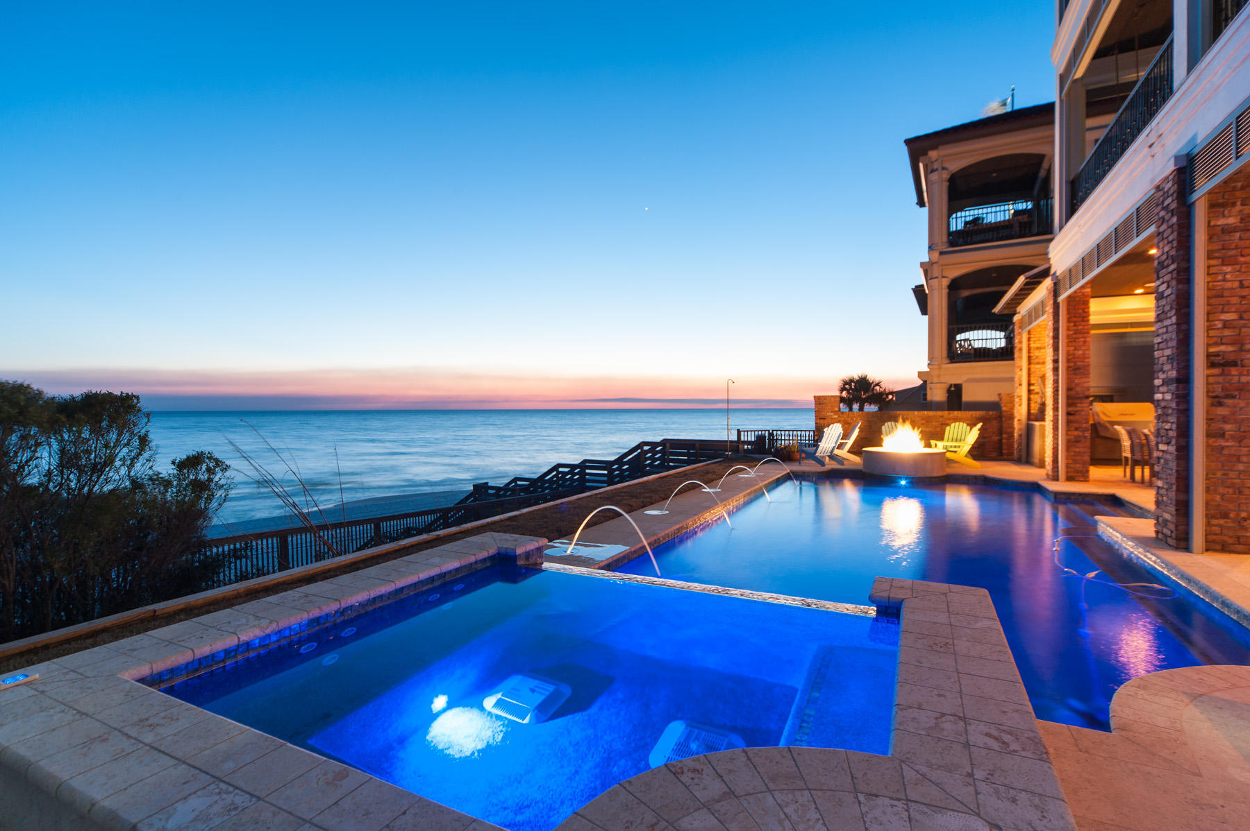 Single Family Home for Sale at GULF VIEWS FROM FOUR FLOORS 768 Blue Mountain Rd Santa Rosa Beach, Florida 32459 United States