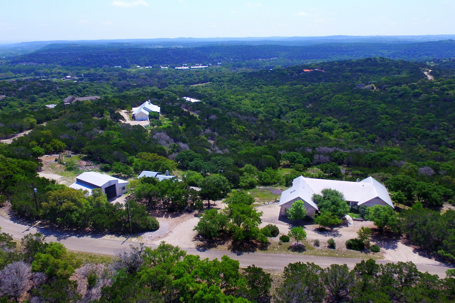 Single Family Home for Sale at Upscale Hill Country Home 325 Japonica Rd Hunt, Texas 78024 United States