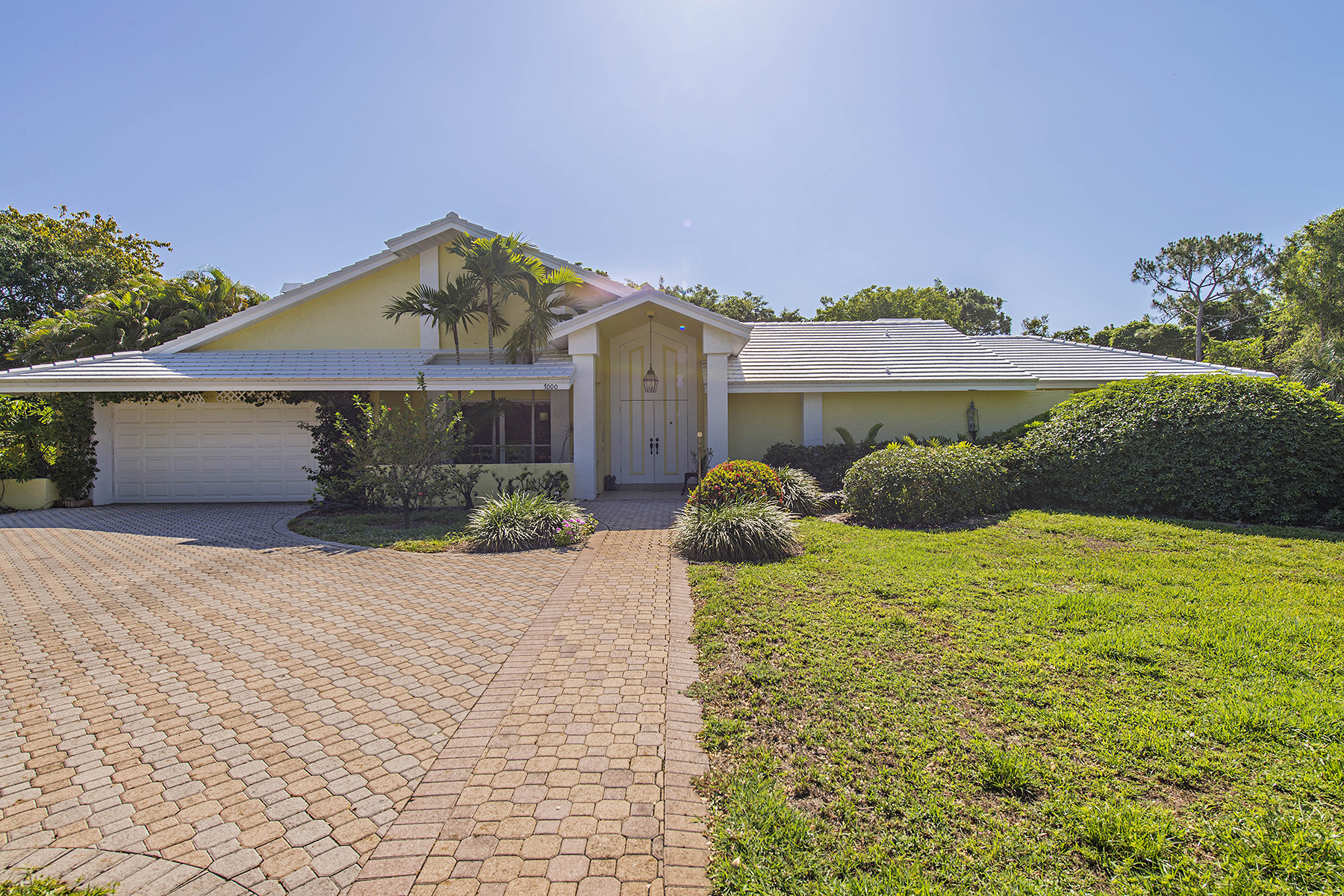 Single Family Home for Sale at PINE RIDGE 7000 Trail Blvd Naples, Florida 34108 United States